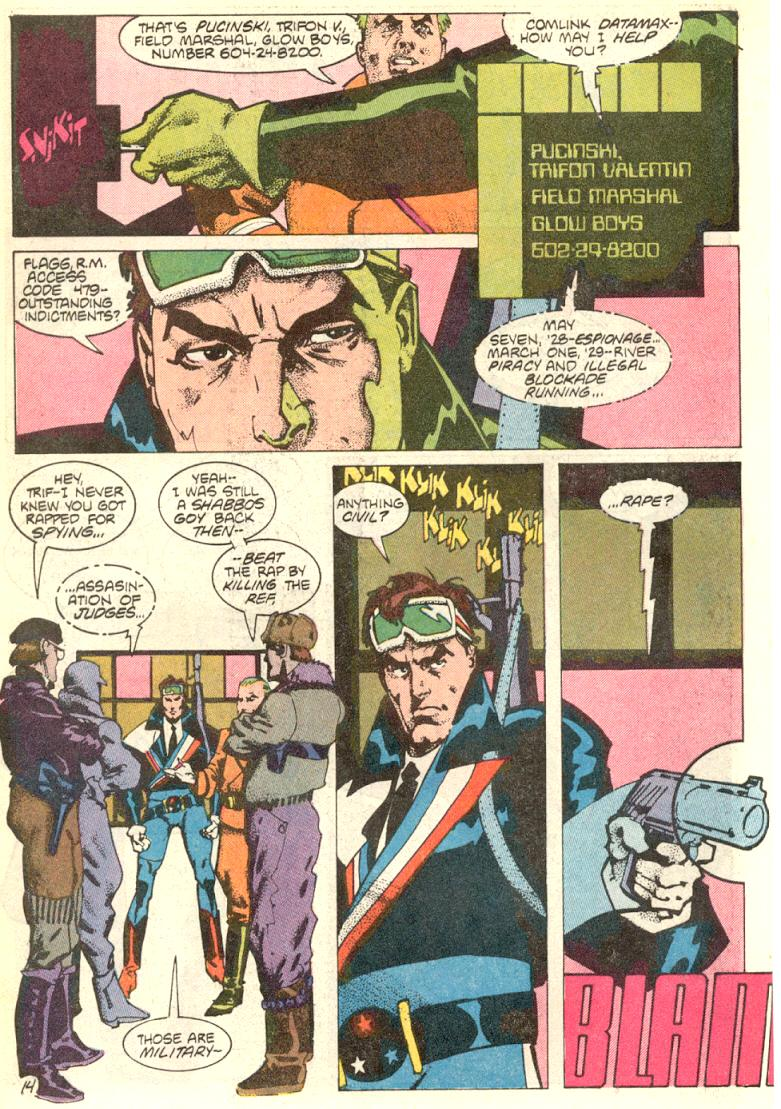 Read online American Flagg! comic -  Issue #9 - 15