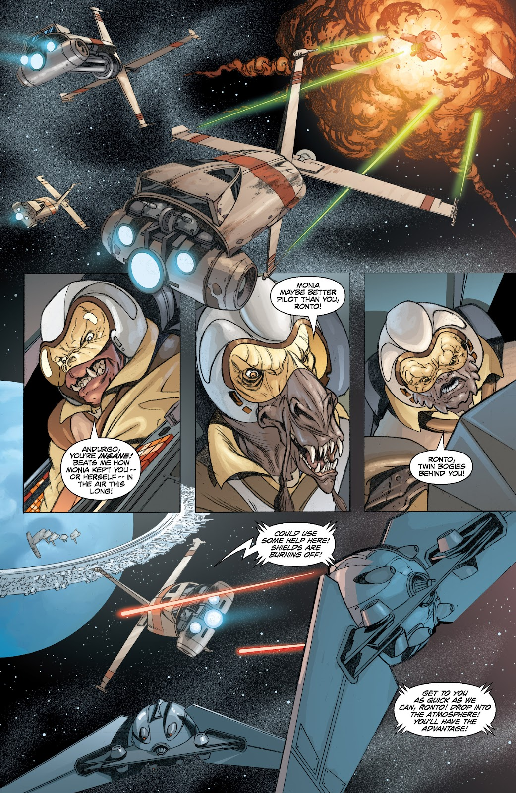 Read online Star Wars Legends: Legacy - Epic Collection comic -  Issue # TPB 2 (Part 1) - 42