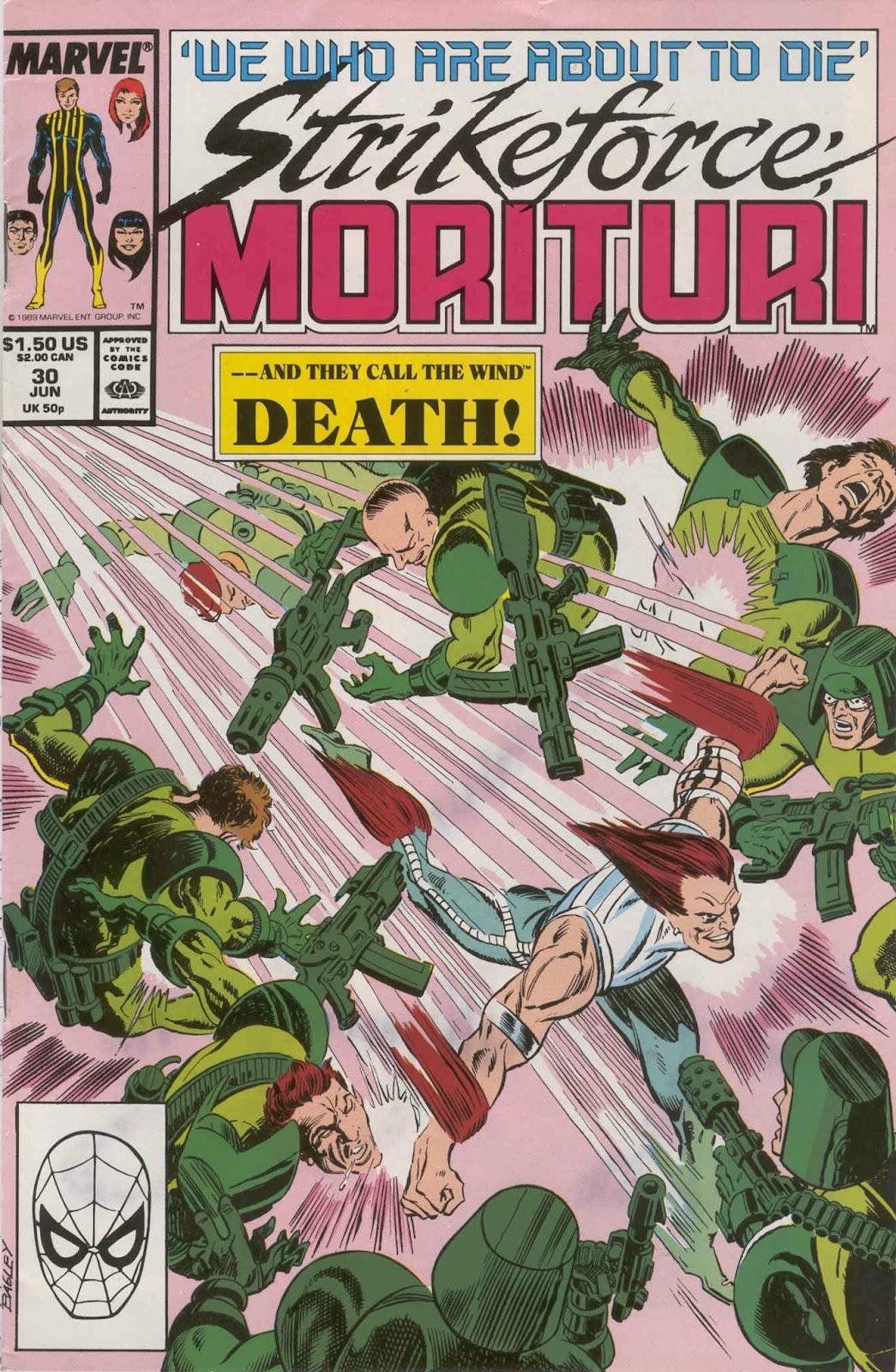 Strikeforce: Morituri 30 Page 1