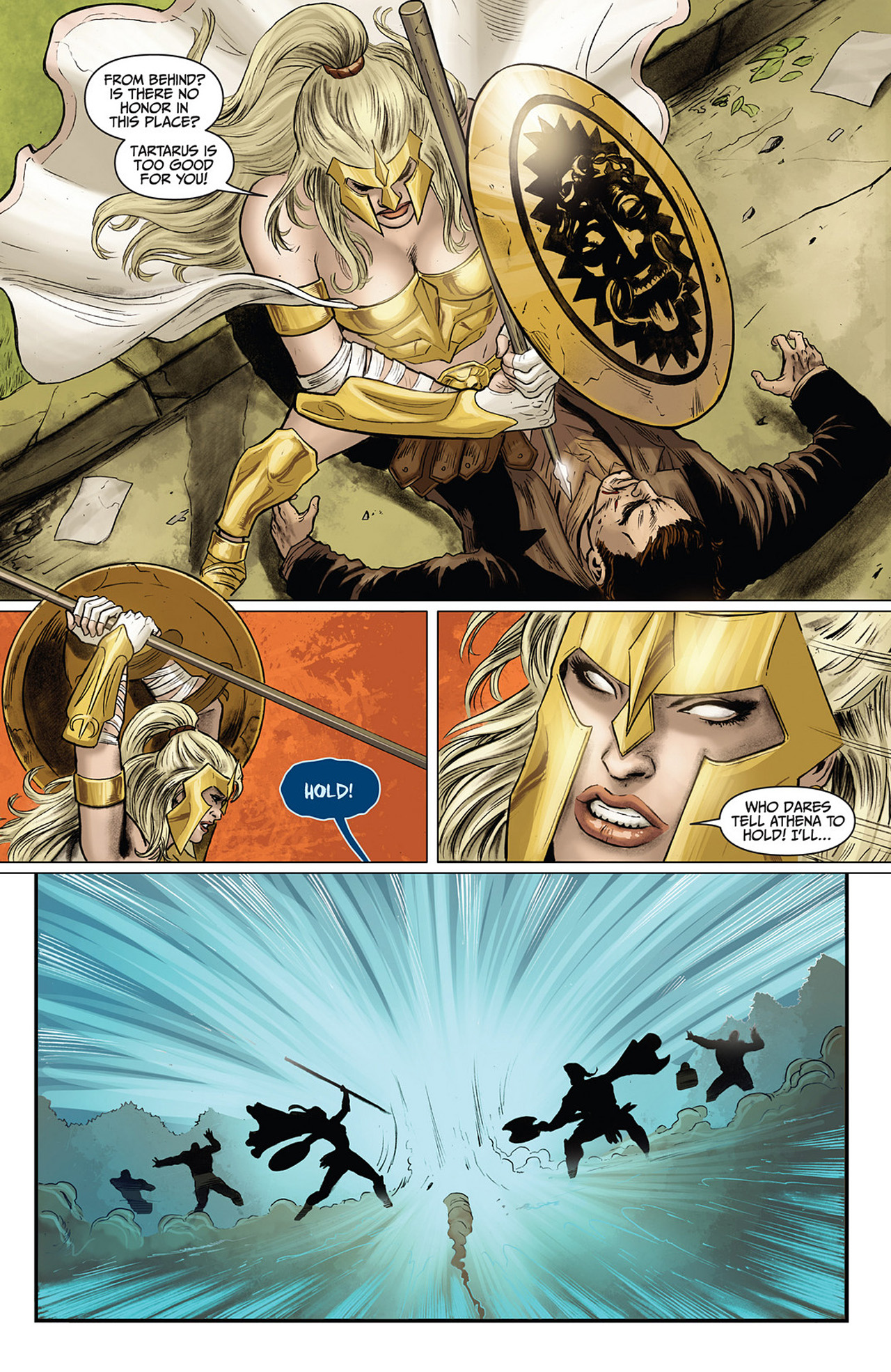 Read online Athena comic -  Issue #3 - 8