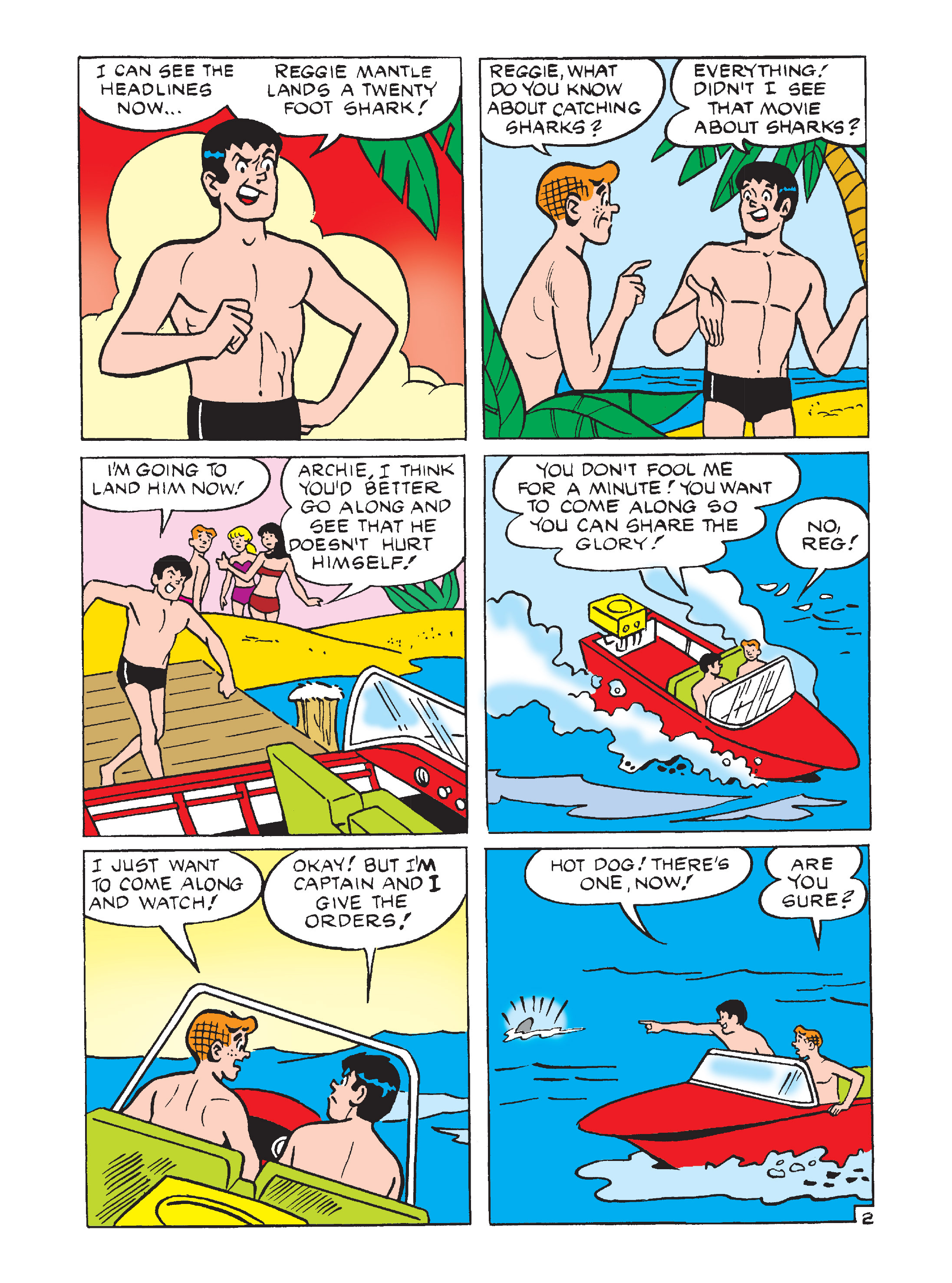 Read online Archie's Funhouse Double Digest comic -  Issue #7 - 91