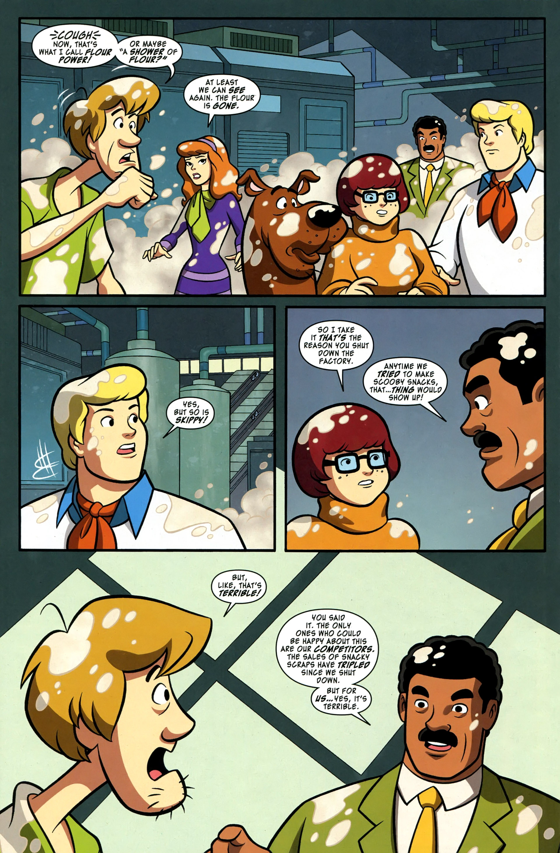 Read online Scooby-Doo: Where Are You? comic -  Issue #37 - 6