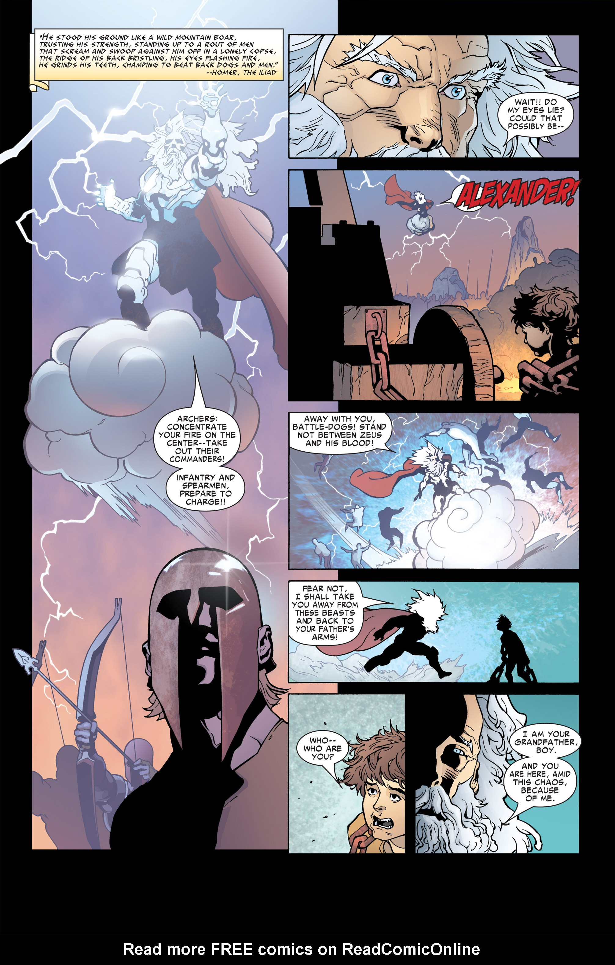 Read online Ares comic -  Issue #4 - 2