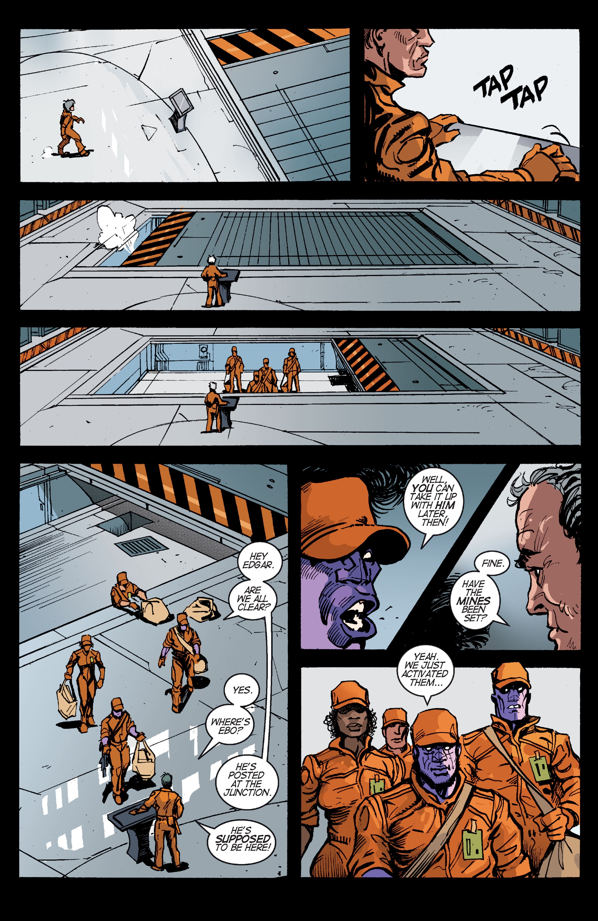 Read online Planetoid Praxis comic -  Issue #5 - 11