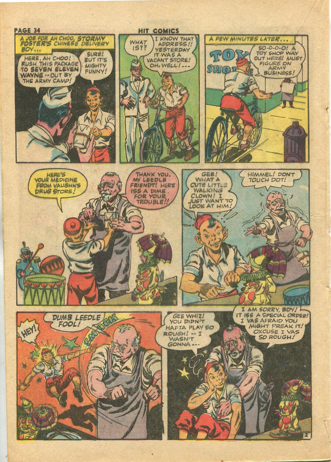 Read online Hit Comics comic -  Issue #28 - 37