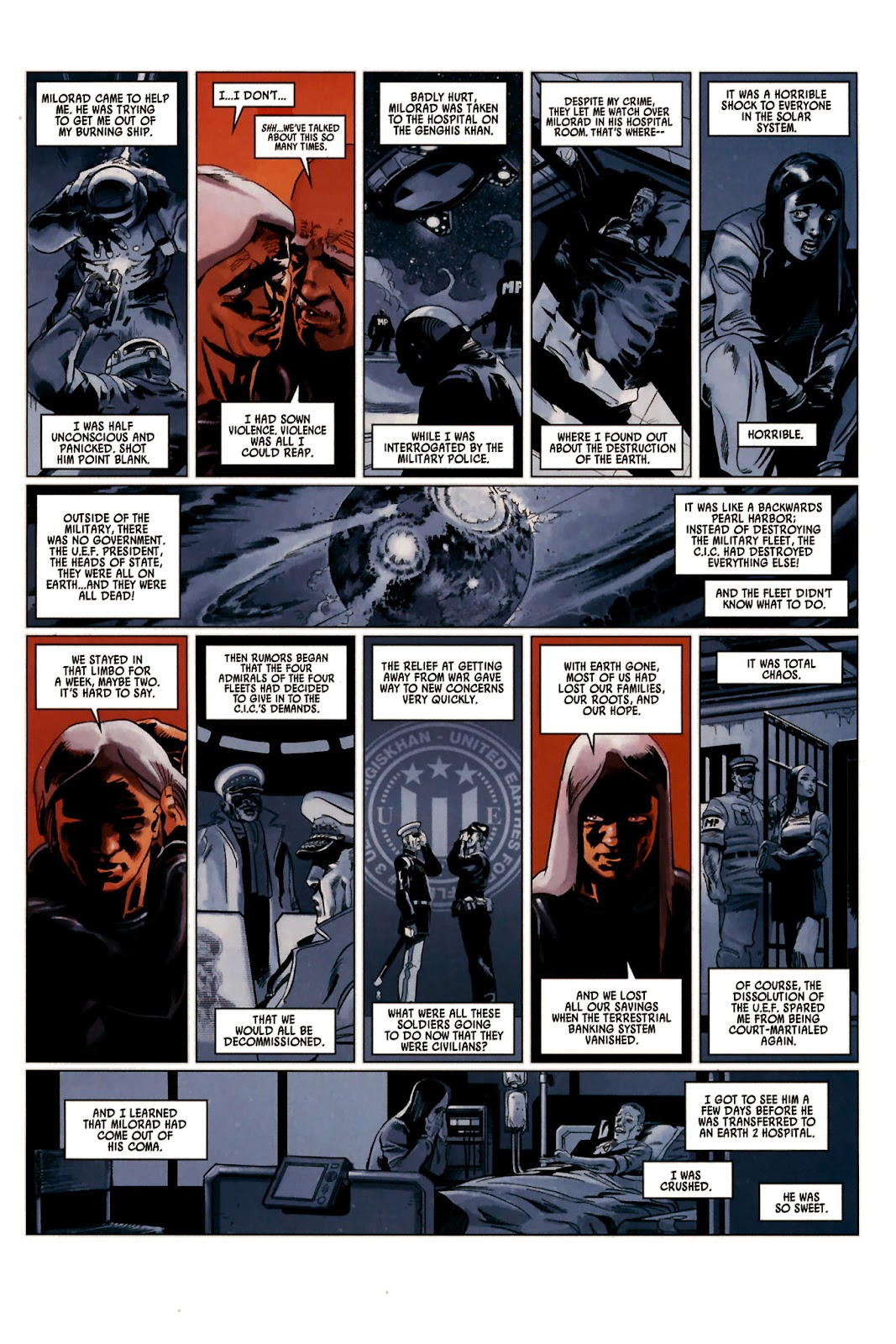 Read online Universal War One: Revelations comic -  Issue #2 - 41