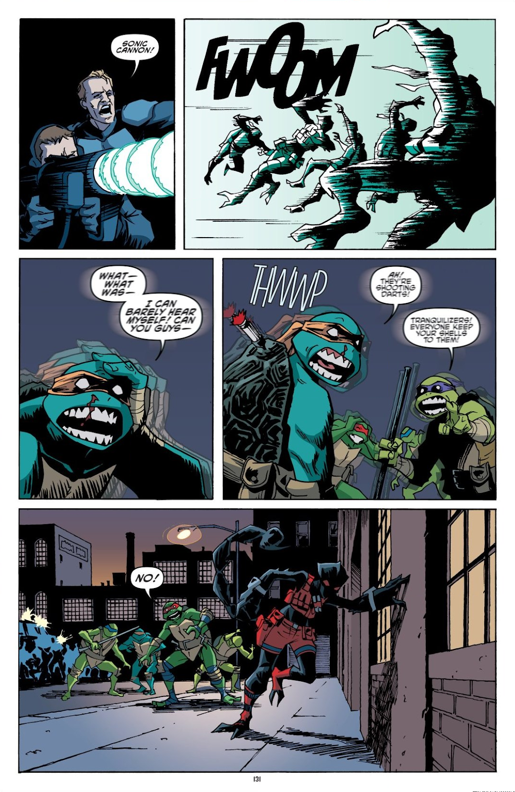 Read online Teenage Mutant Ninja Turtles: The IDW Collection comic -  Issue # TPB 8 (Part 2) - 30