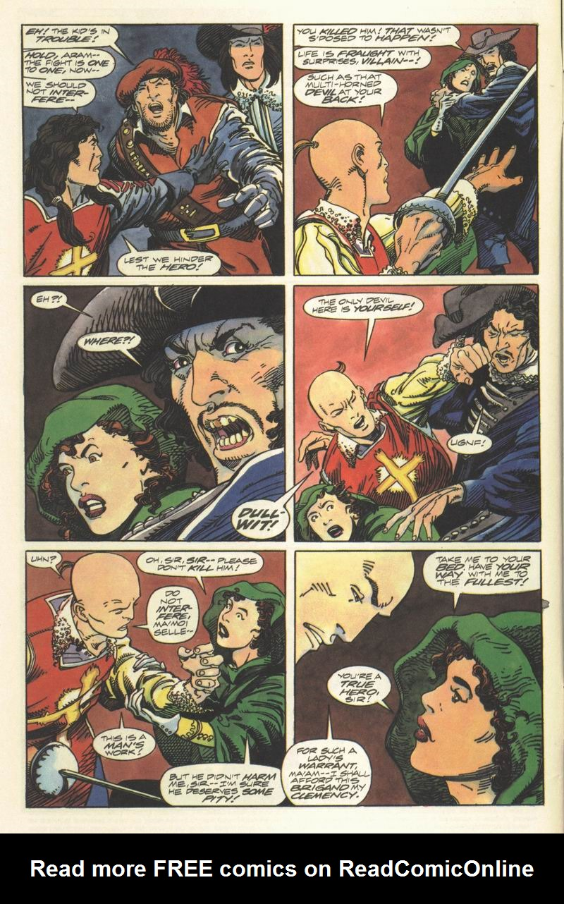 Read online Eternal Warrior (1992) comic -  Issue #8 - 5