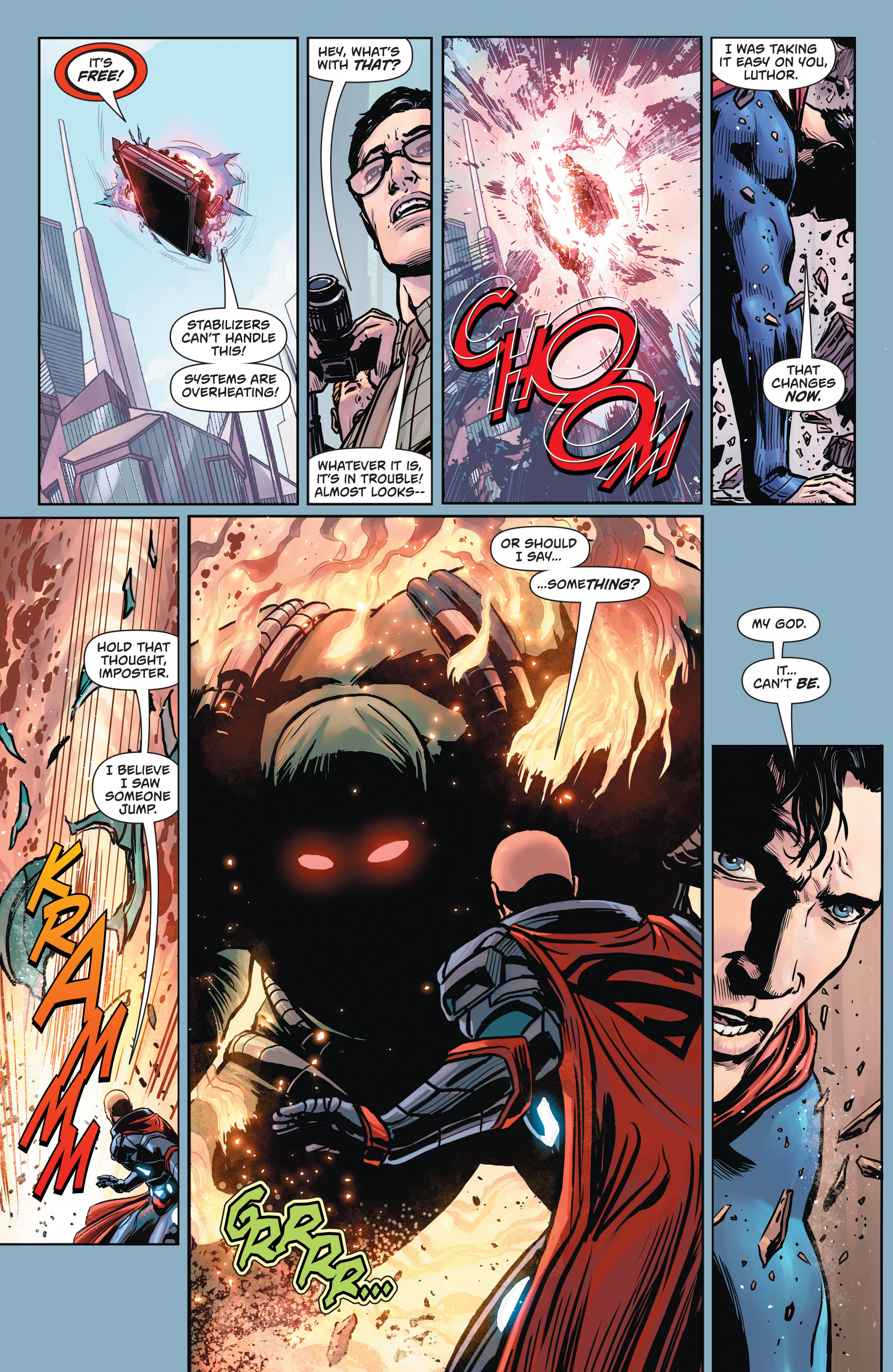 Read online Action Comics (2016) comic -  Issue #957 - 22