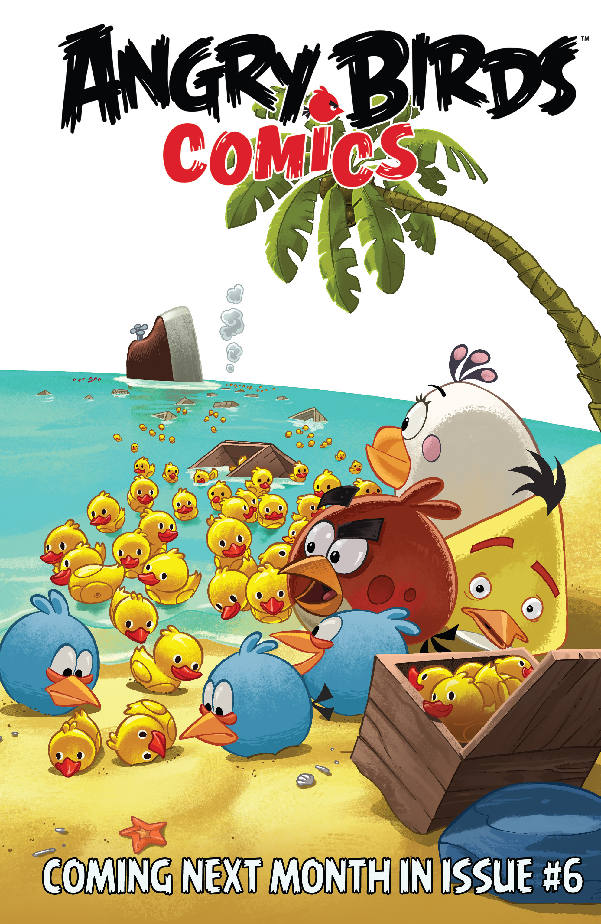 Read online Angry Birds Comics (2016) comic -  Issue #5 - 23
