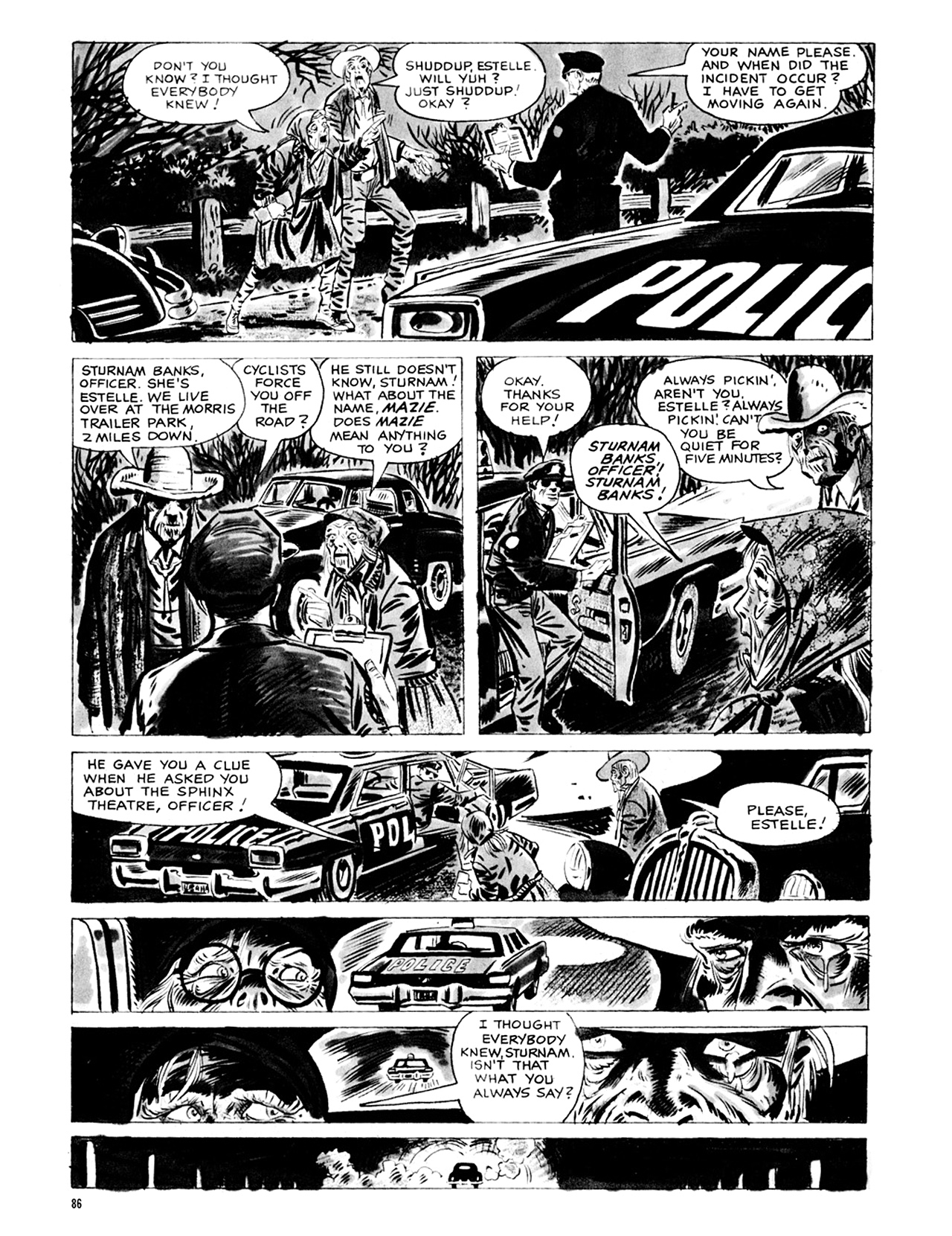 Read online Eerie Archives comic -  Issue # TPB 9 - 87