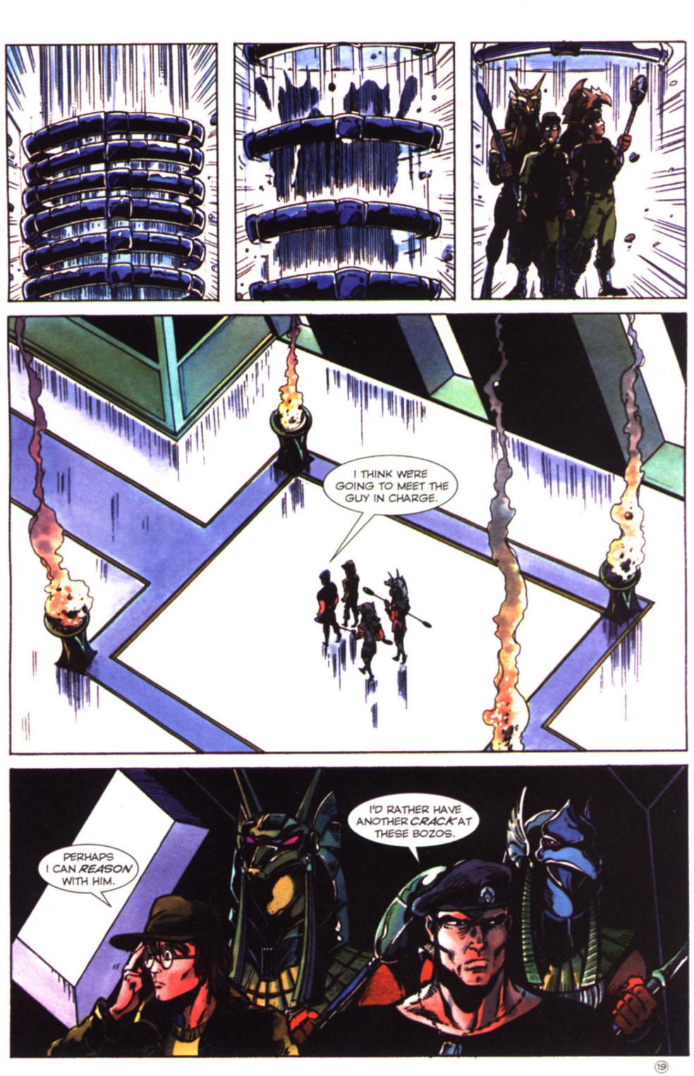 Read online Stargate comic -  Issue #2 - 21