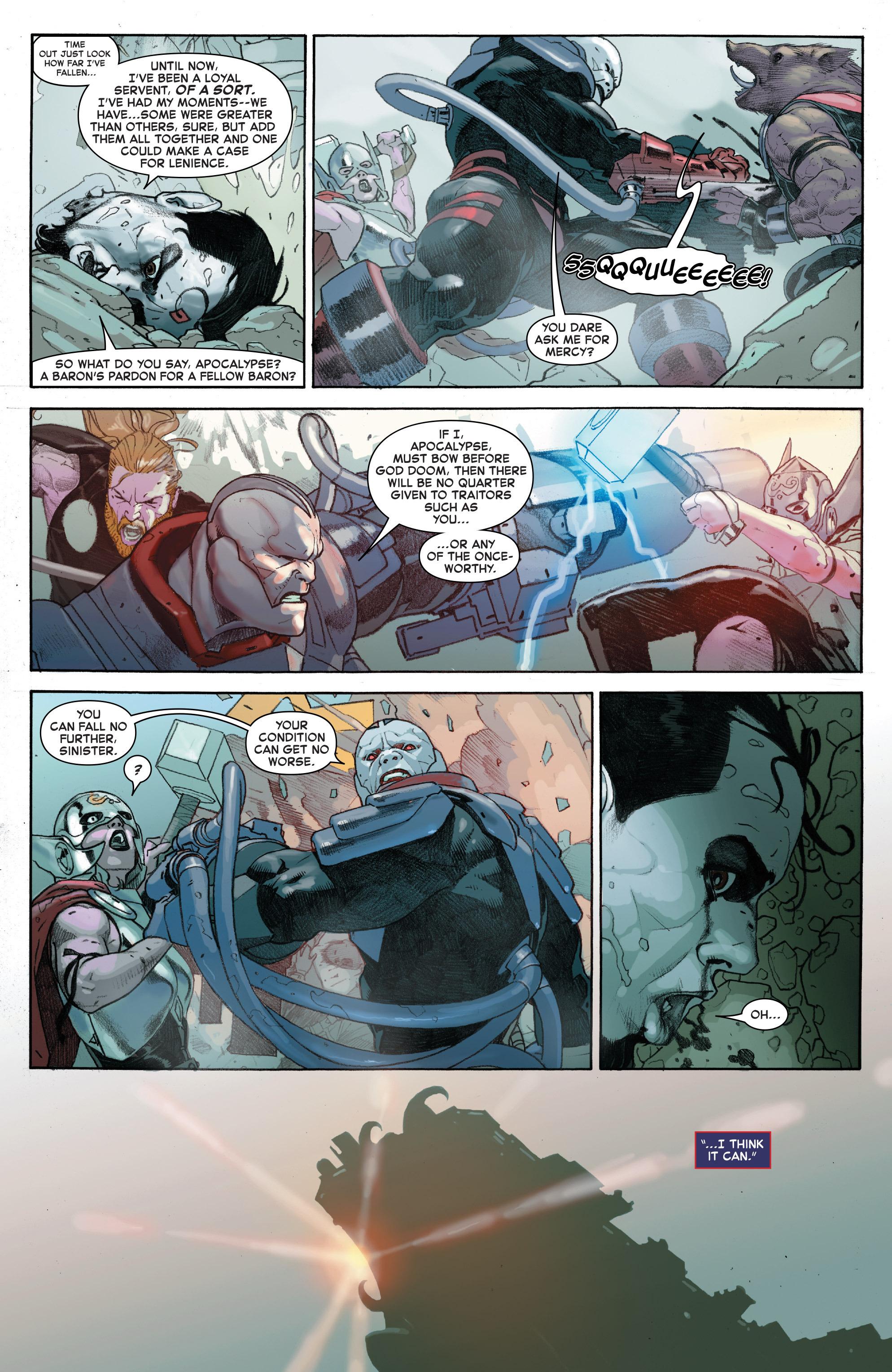 Read online Secret Wars comic -  Issue #7 - 15