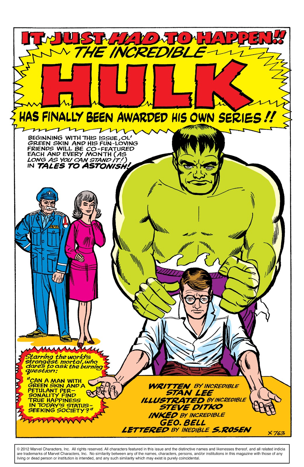 Read online Marvel Masterworks: The Incredible Hulk comic -  Issue # TPB 2 (Part 1) - 24