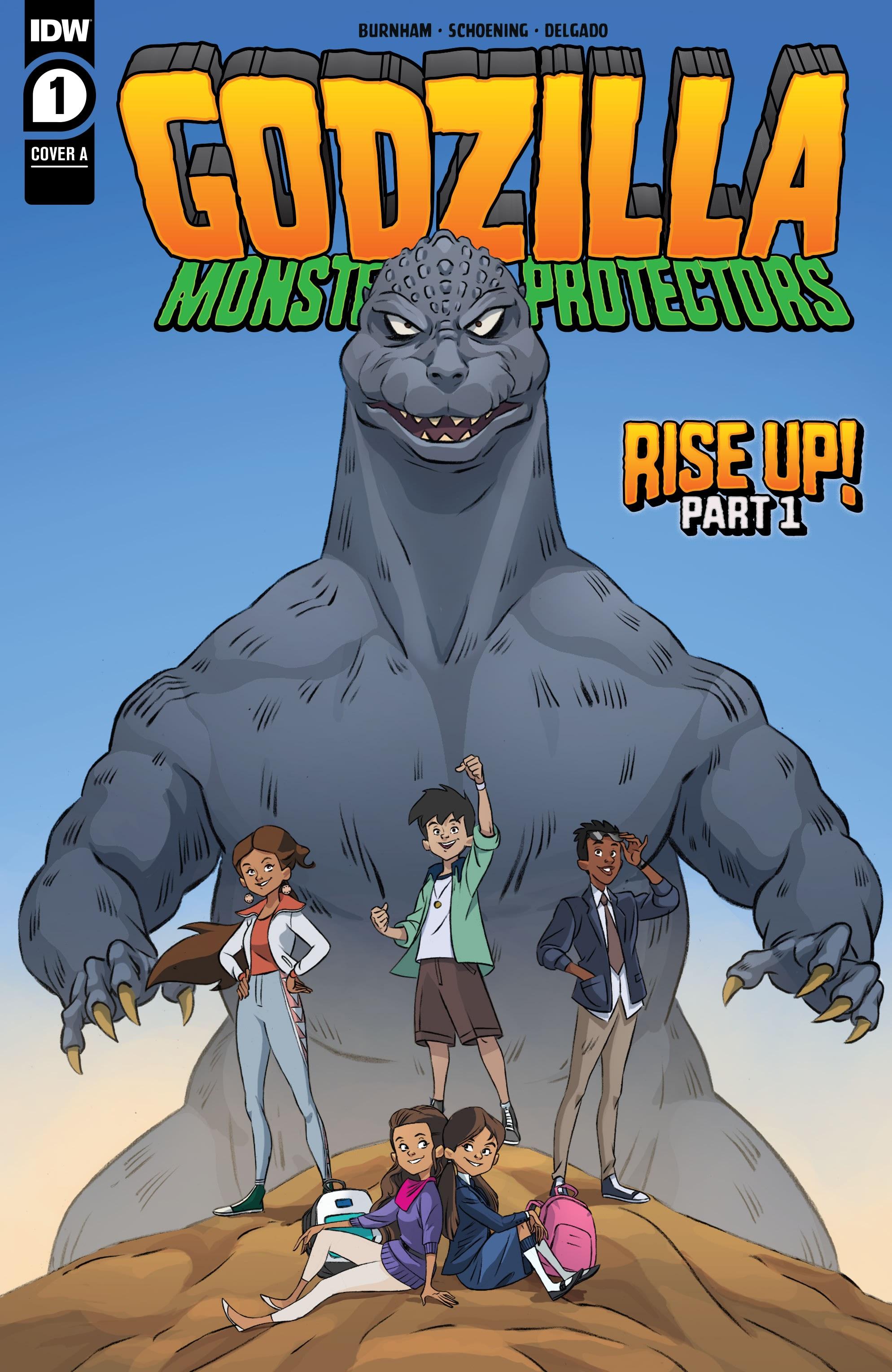 Godzilla: Monsters & Protectors 1 Page 1