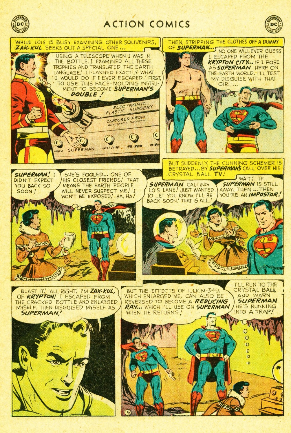 Read online Action Comics (1938) comic -  Issue #245 - 7