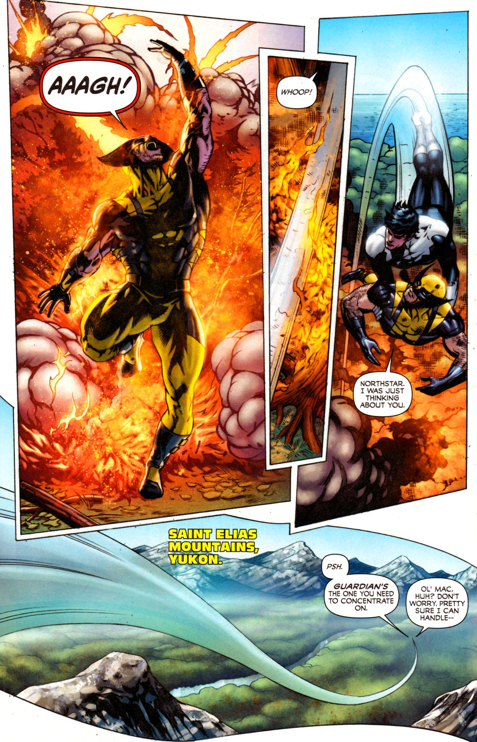 Read online Alpha Flight (2011) comic -  Issue #7 - 7