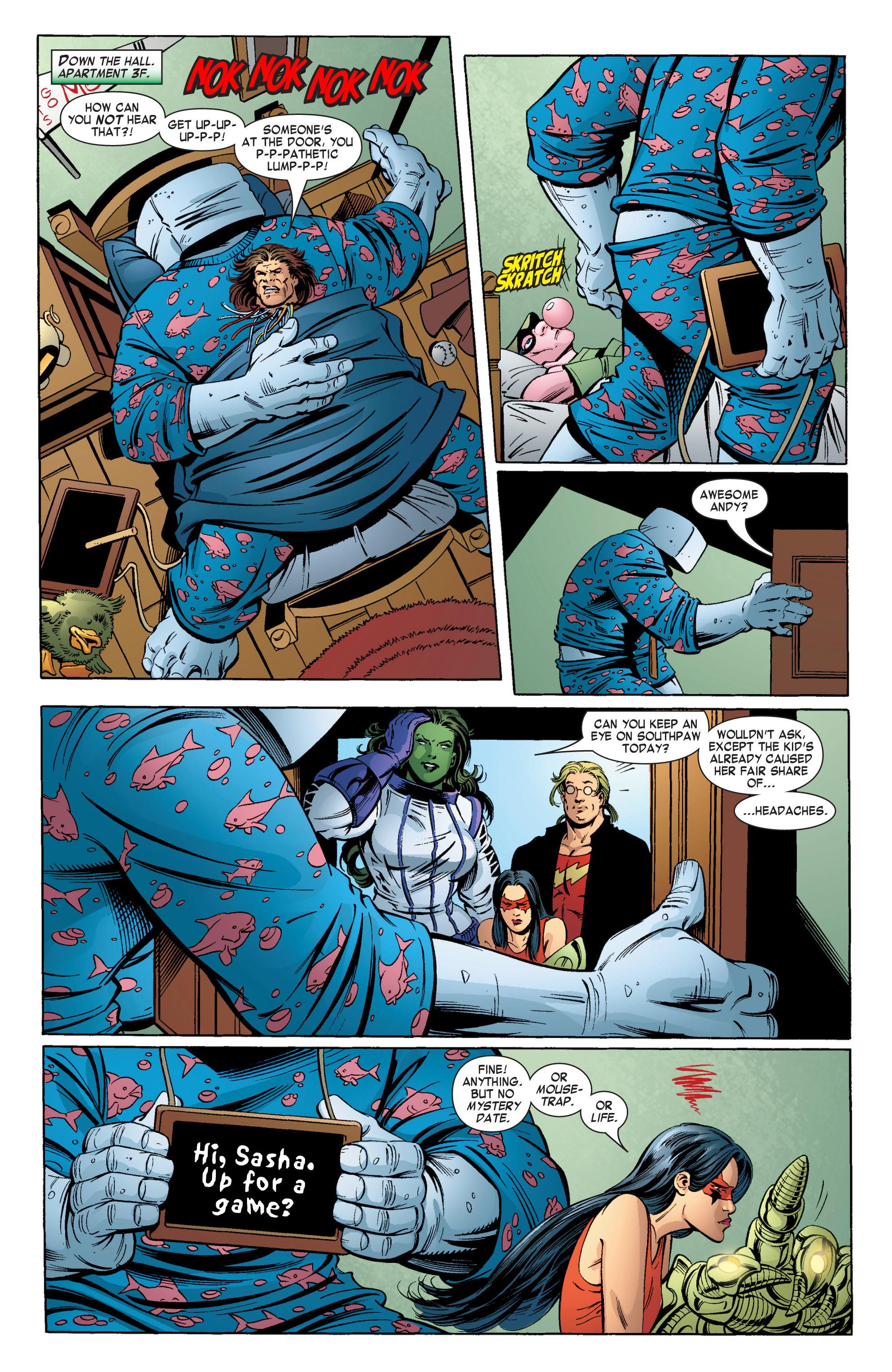 Read online She-Hulk (2004) comic -  Issue #11 - 6