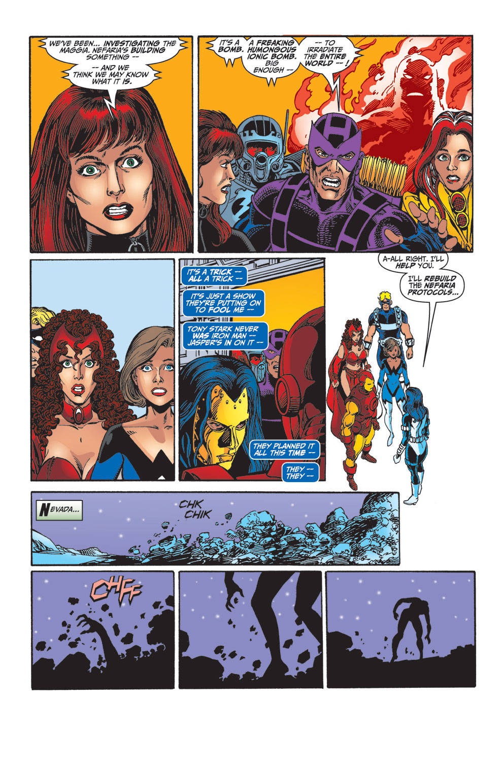 Read online Avengers (1998) comic -  Issue #33 - 22