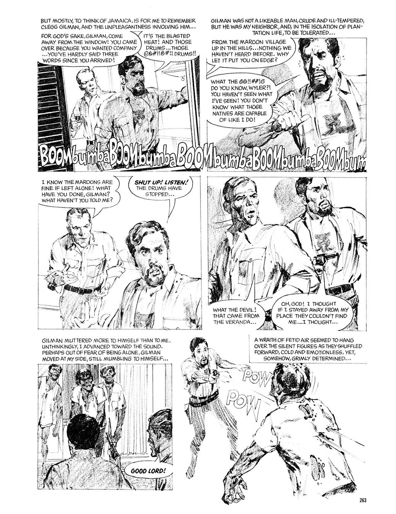 Read online Eerie Archives comic -  Issue # TPB 2 - 264