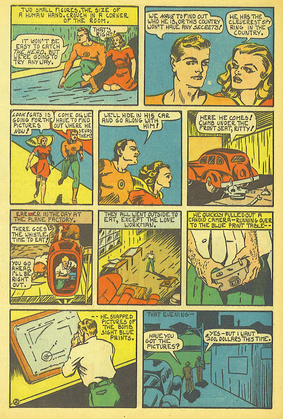 Read online Amazing Man Comics comic -  Issue #19 - 60