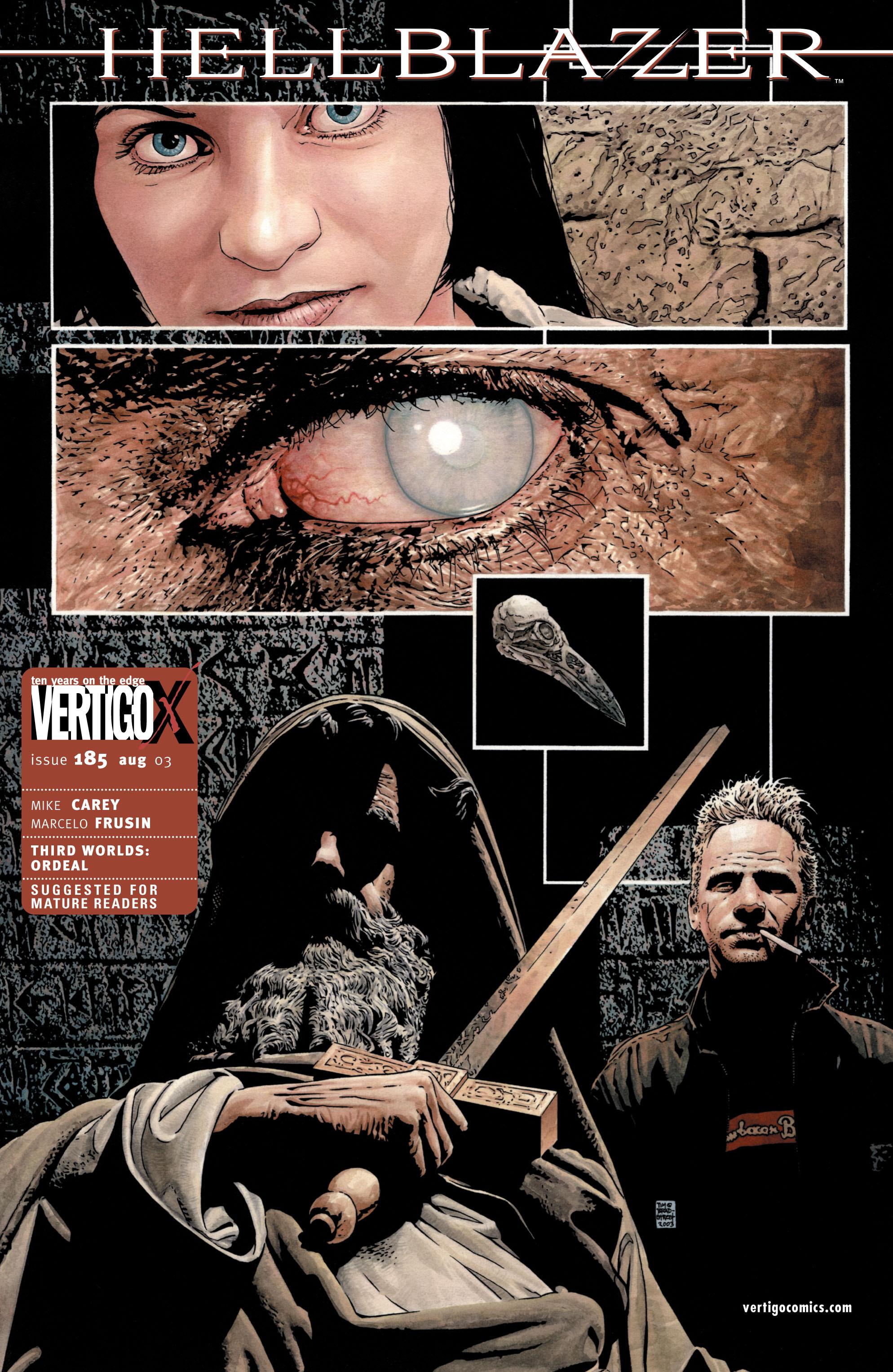 Hellblazer issue 185 - Page 1