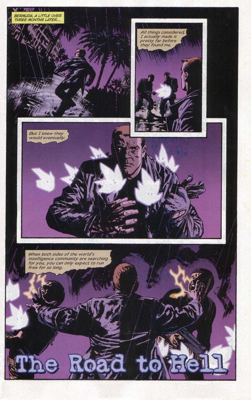 Read online Sleeper comic -  Issue #12 - 3