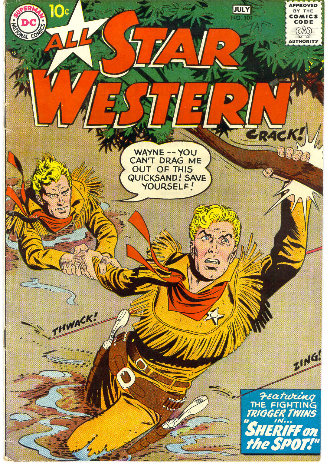 Read online All-Star Western (1951) comic -  Issue #101 - 1