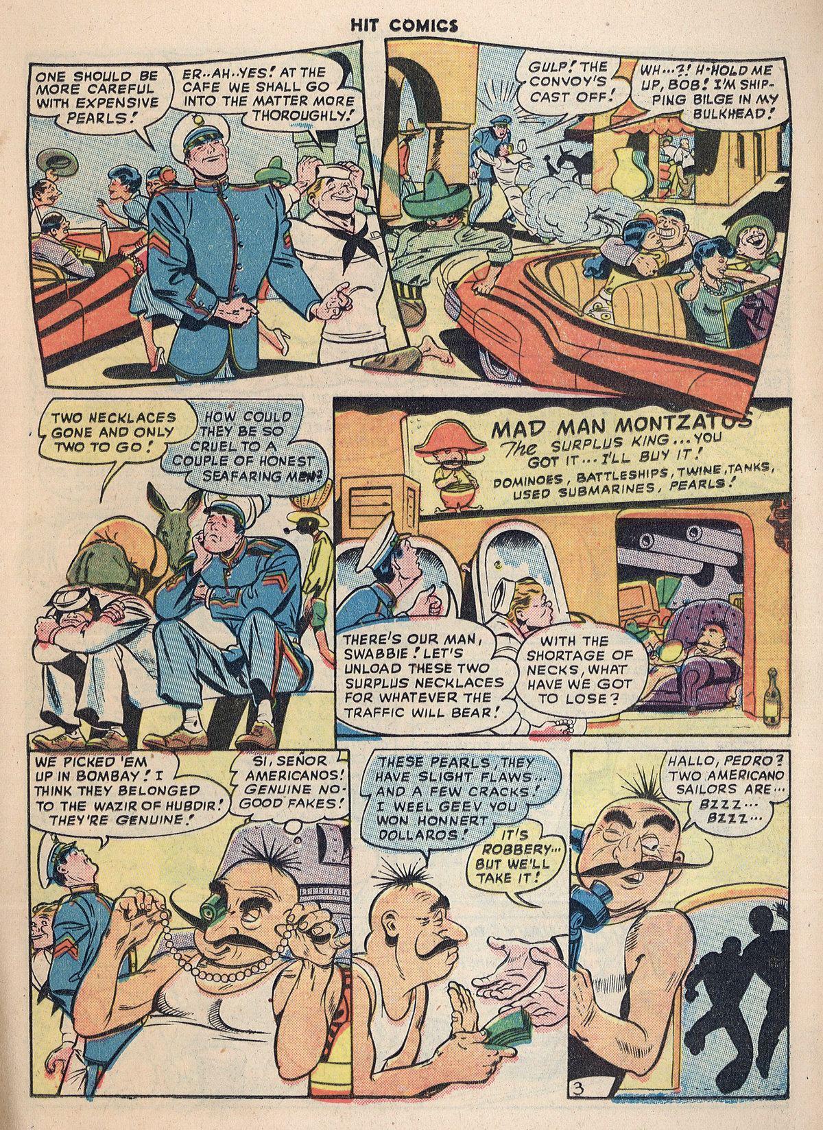 Read online Hit Comics comic -  Issue #55 - 23