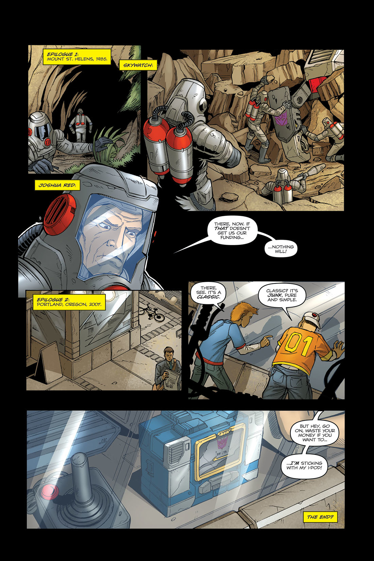 Read online Transformers Spotlight: Soundwave comic -  Issue # Full - 24