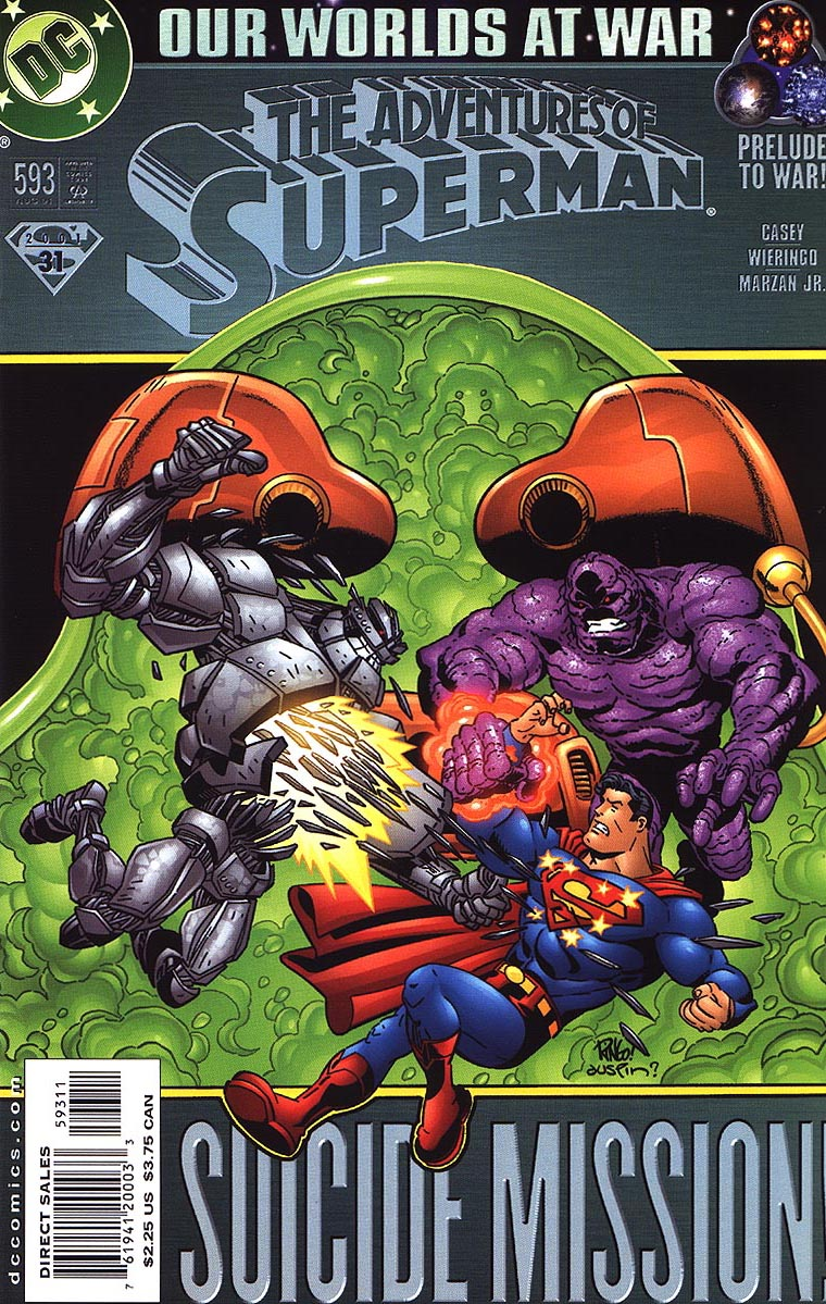 Read online Adventures of Superman (1987) comic -  Issue #593 - 3