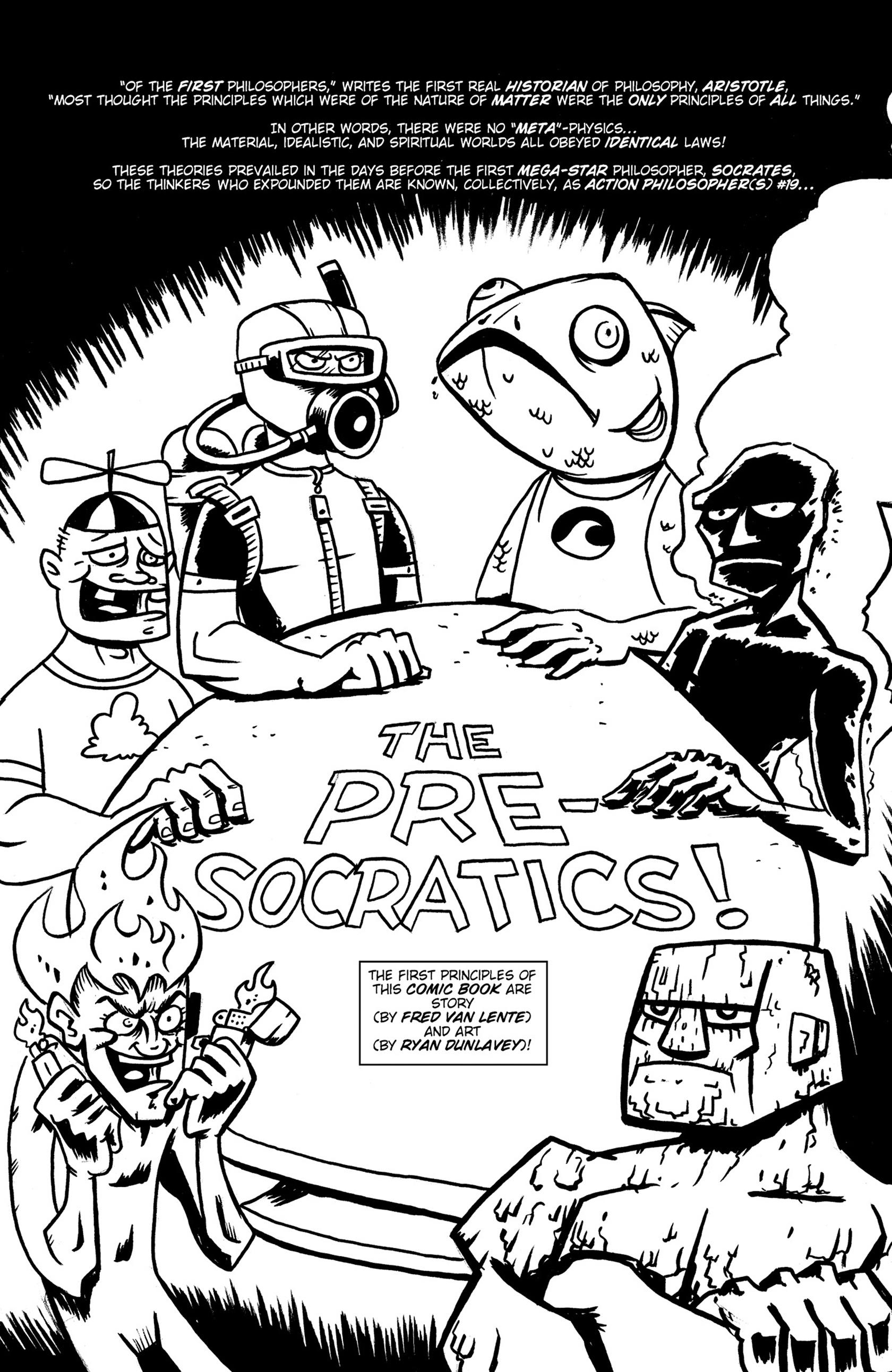 Read online Action Philosophers! comic -  Issue #Action Philosophers! TPB (Part 1) - 11