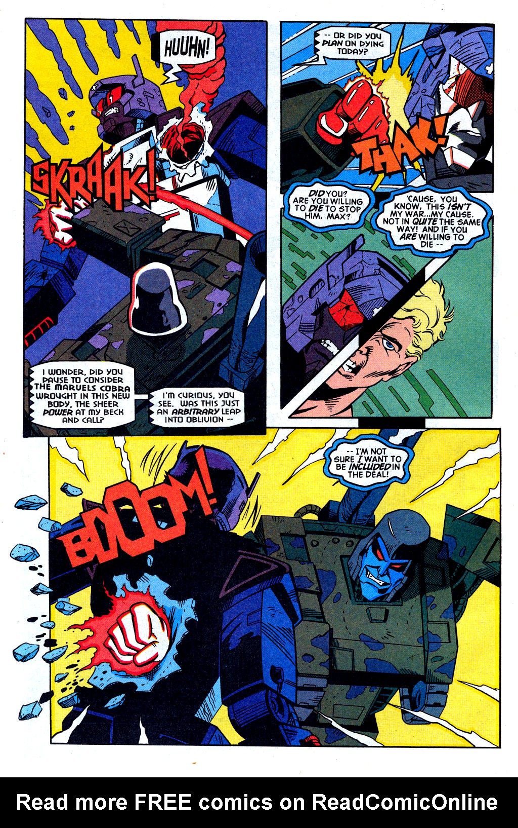 Read online Transformers: Generation 2 comic -  Issue #2 - 13