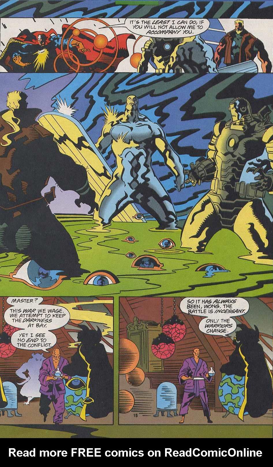 Read online Secret Defenders comic -  Issue #9 - 12