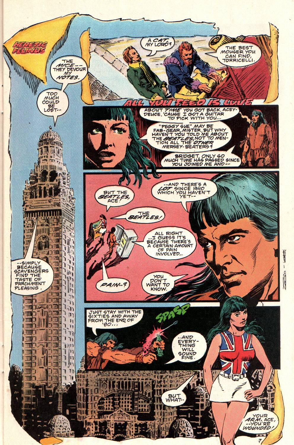 Read online Aztec Ace comic -  Issue #8 - 9