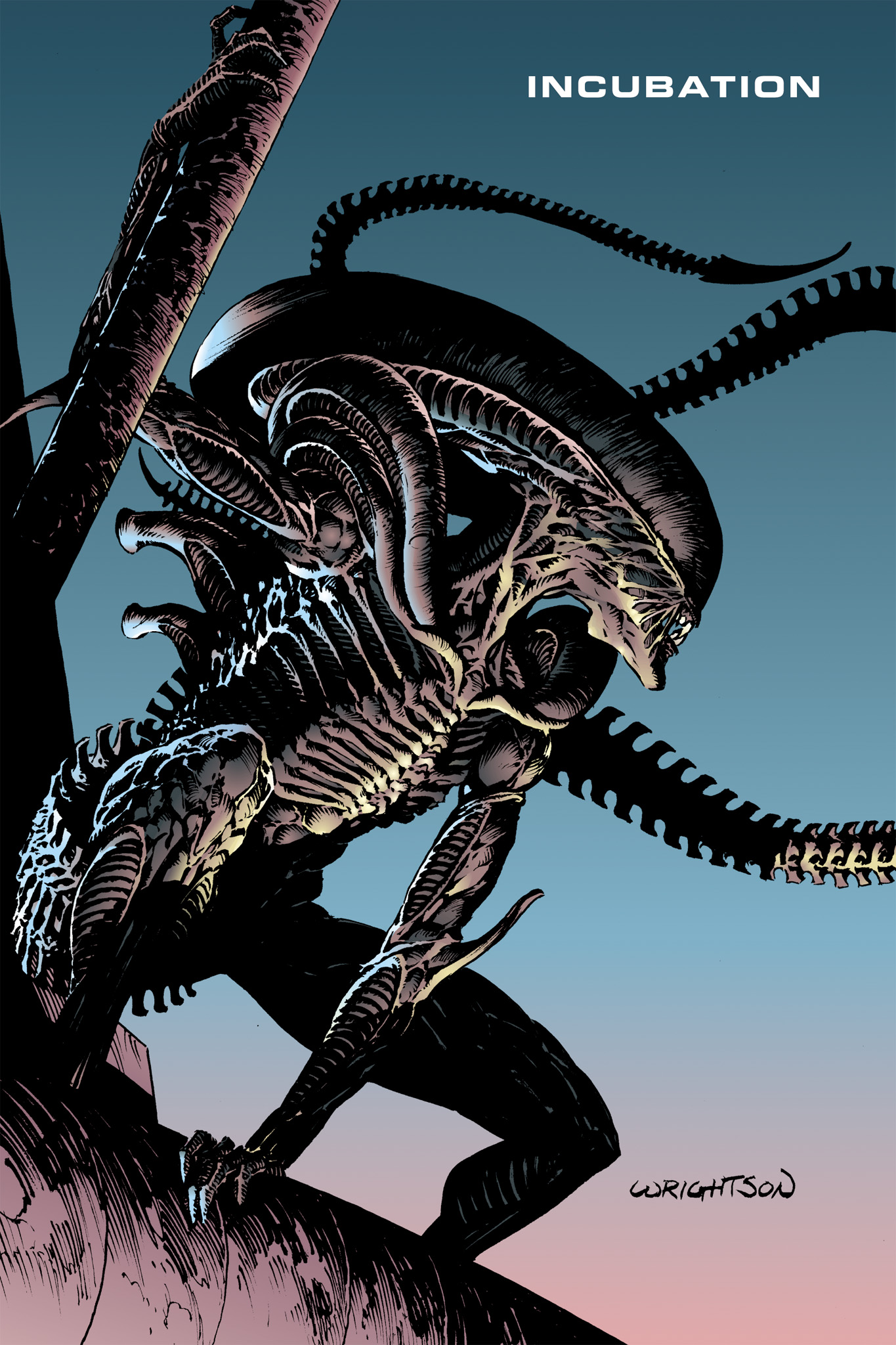 Read online Aliens: Incubation/Lucky/Taste comic -  Issue # Full - 3