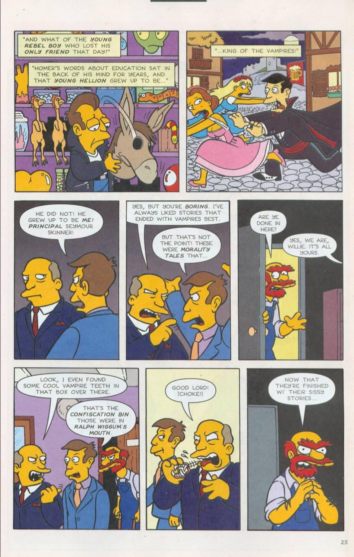 Read online Simpsons Comics comic -  Issue #75 - 26
