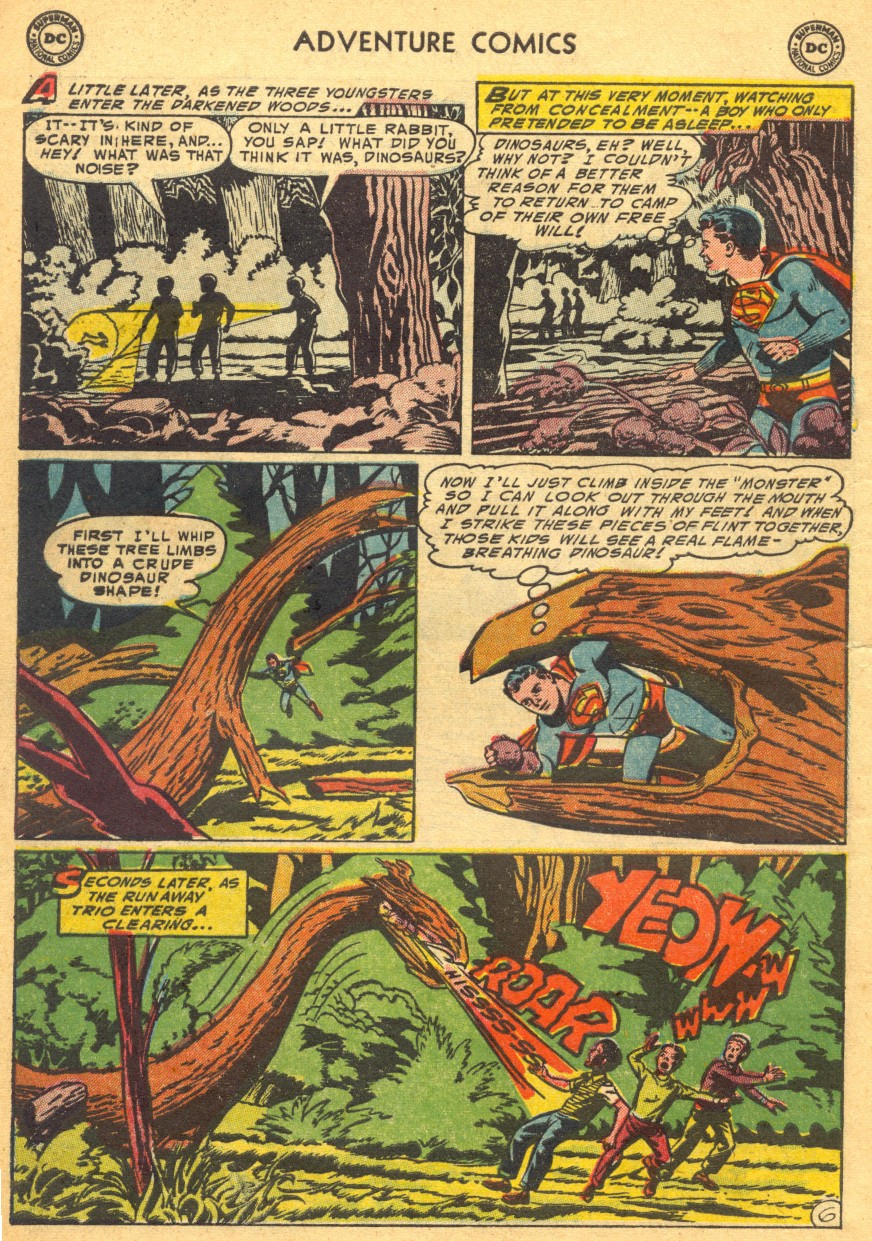 Read online Adventure Comics (1938) comic -  Issue #203 - 8