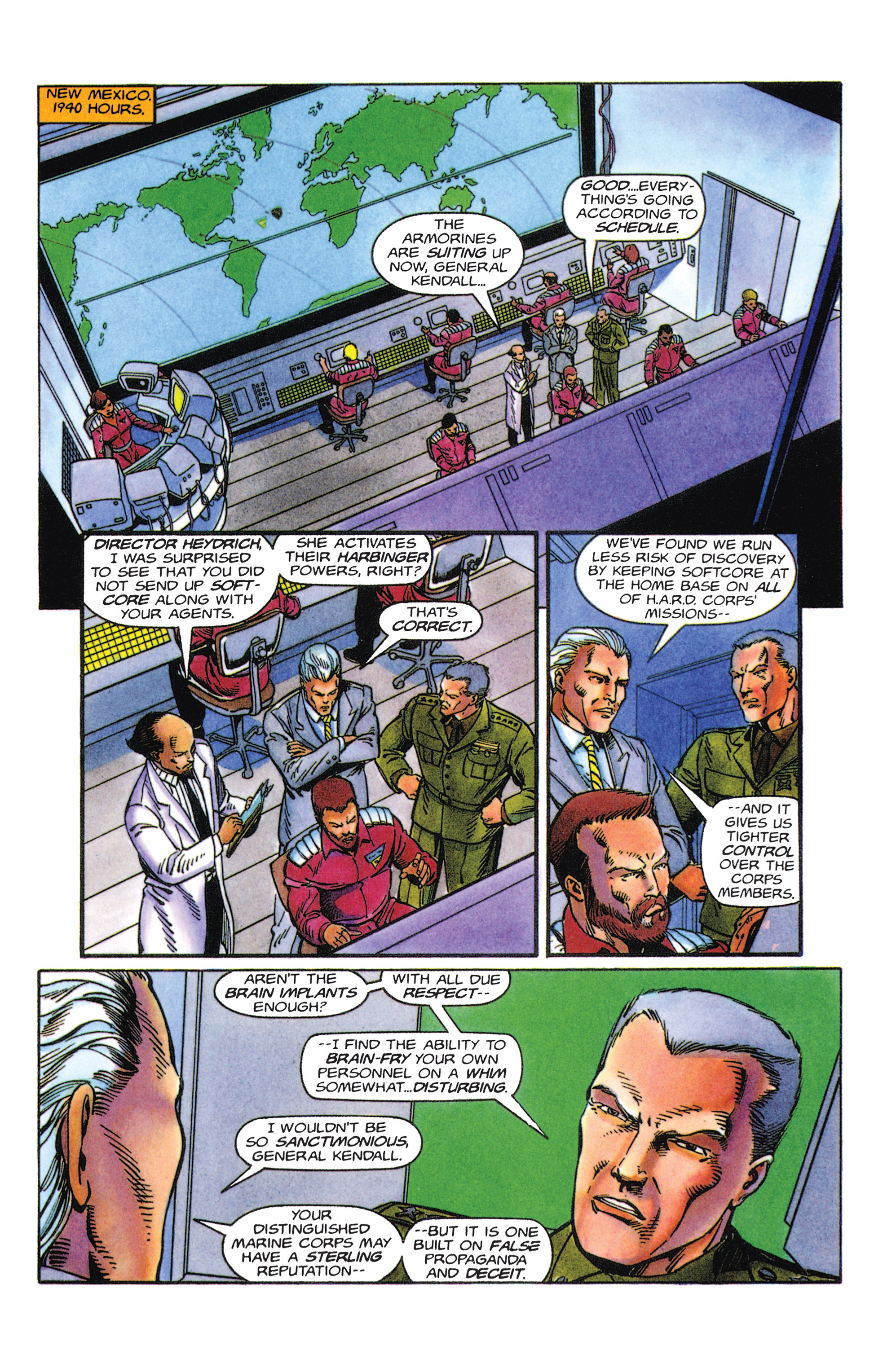 Read online Armorines comic -  Issue #5 - 5