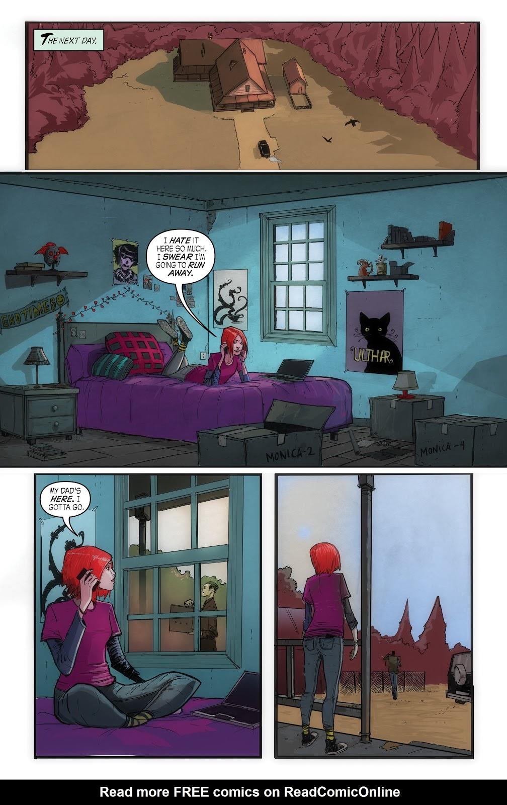 Read online John Carpenter Presents Storm Kids: Monica Bleue: A Werewolf Story comic -  Issue #1 - 13