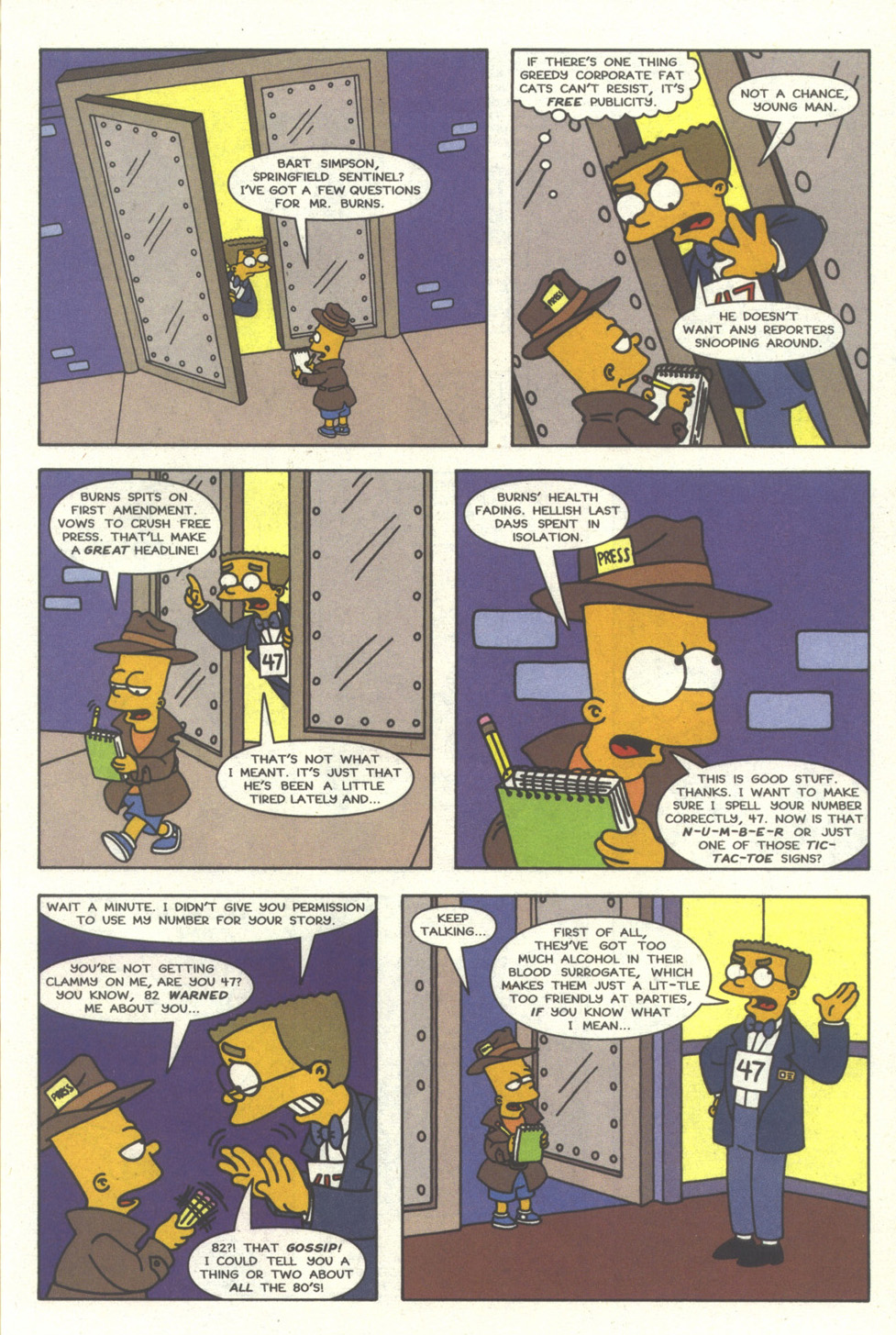 Read online Simpsons Comics comic -  Issue #30 - 8