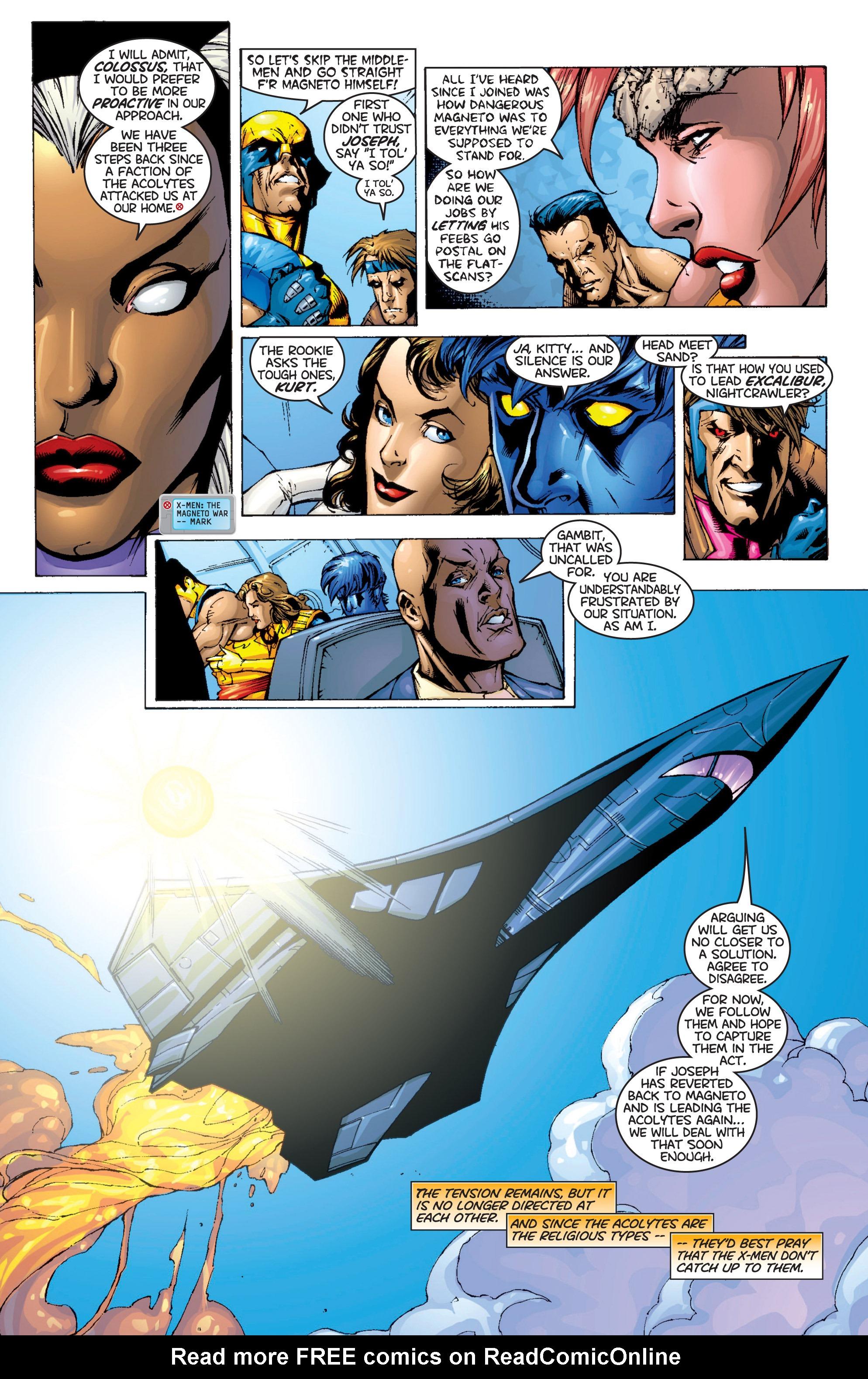 Read online Uncanny X-Men (1963) comic -  Issue #366 - 5