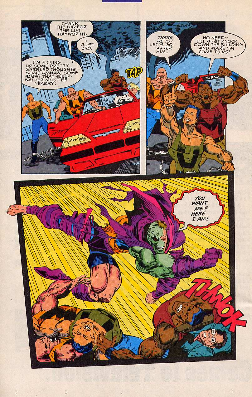Read online Sleepwalker comic -  Issue #20 - 17
