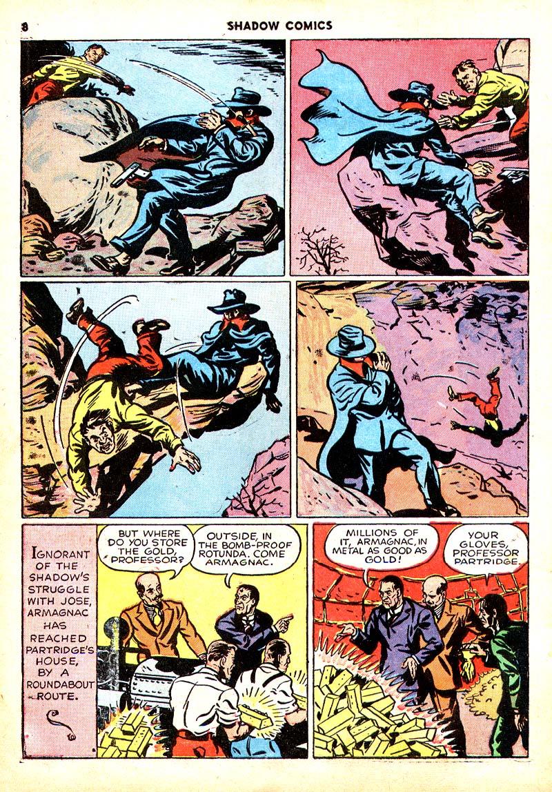 Read online Shadow Comics comic -  Issue #7 - 9