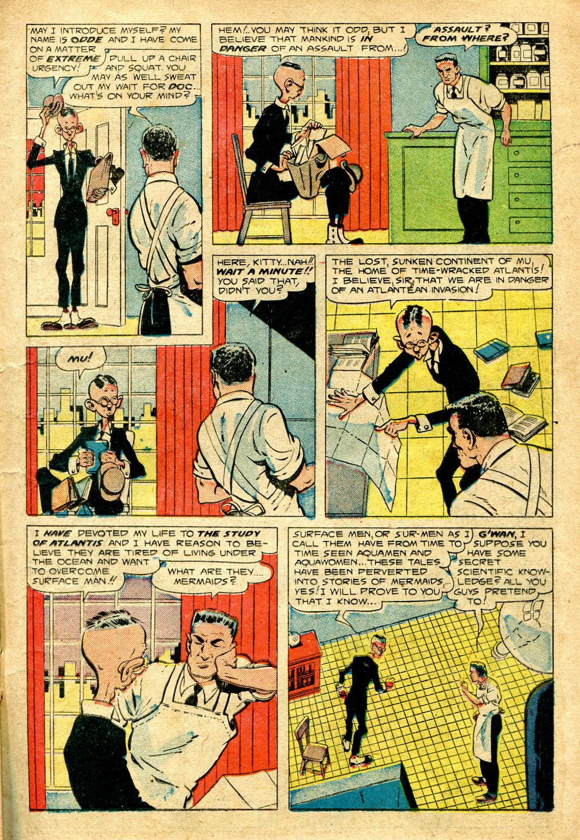 Read online Shadow Comics comic -  Issue #96 - 19