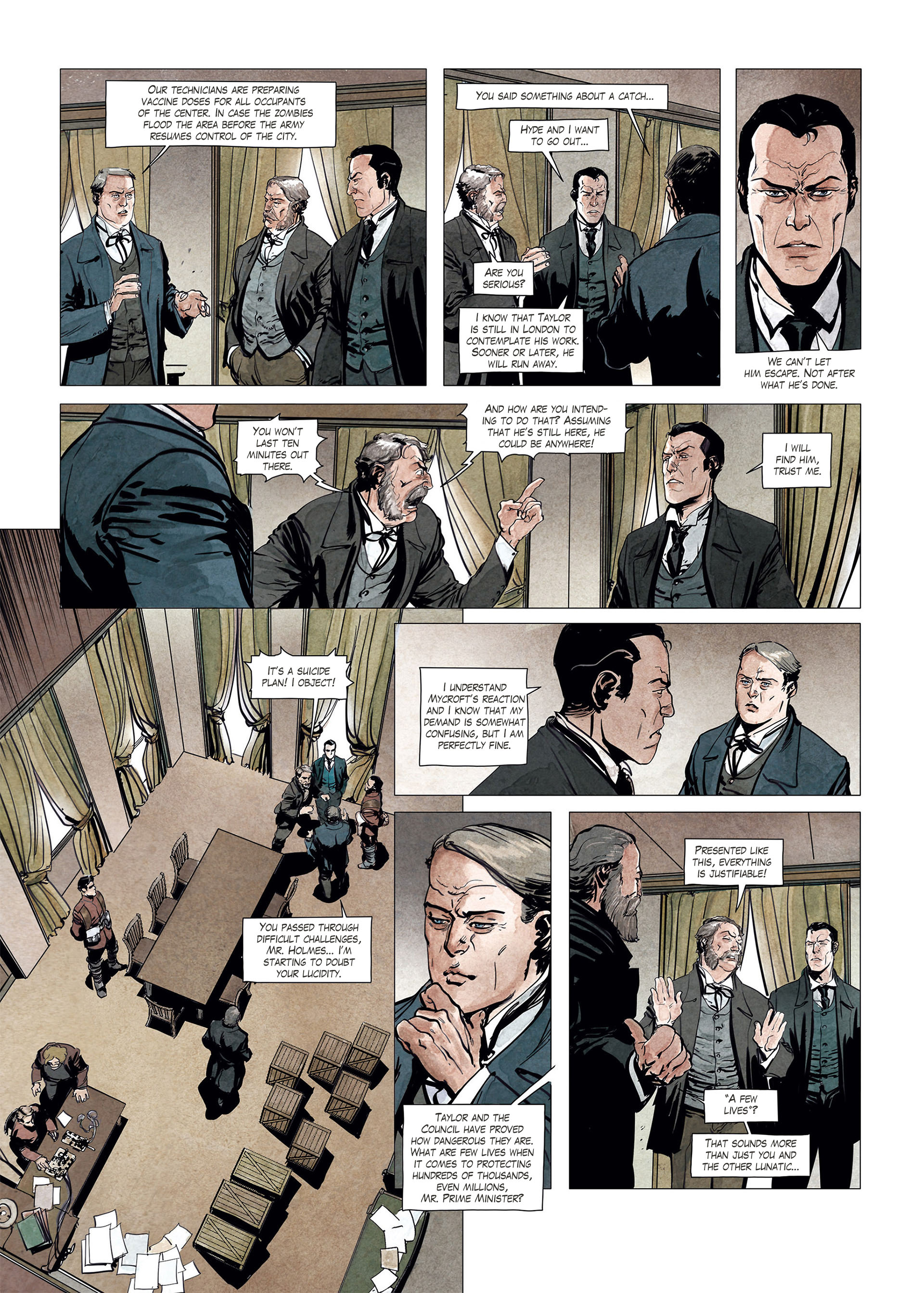 Read online Sherlock Holmes Society Tome 4 : Contamination comic -  Issue # Full - 26