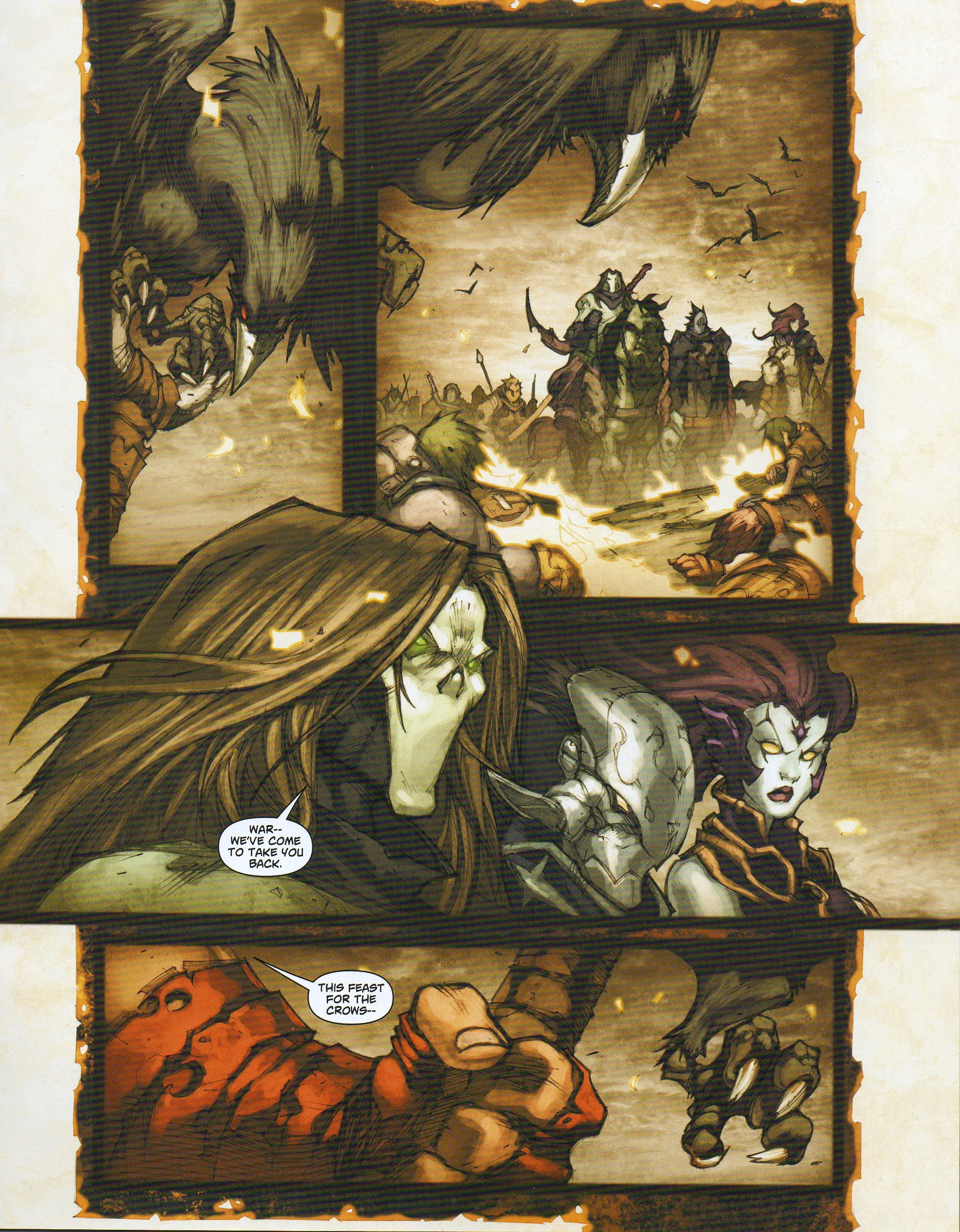 Read online Darksiders comic -  Issue # Full - 9