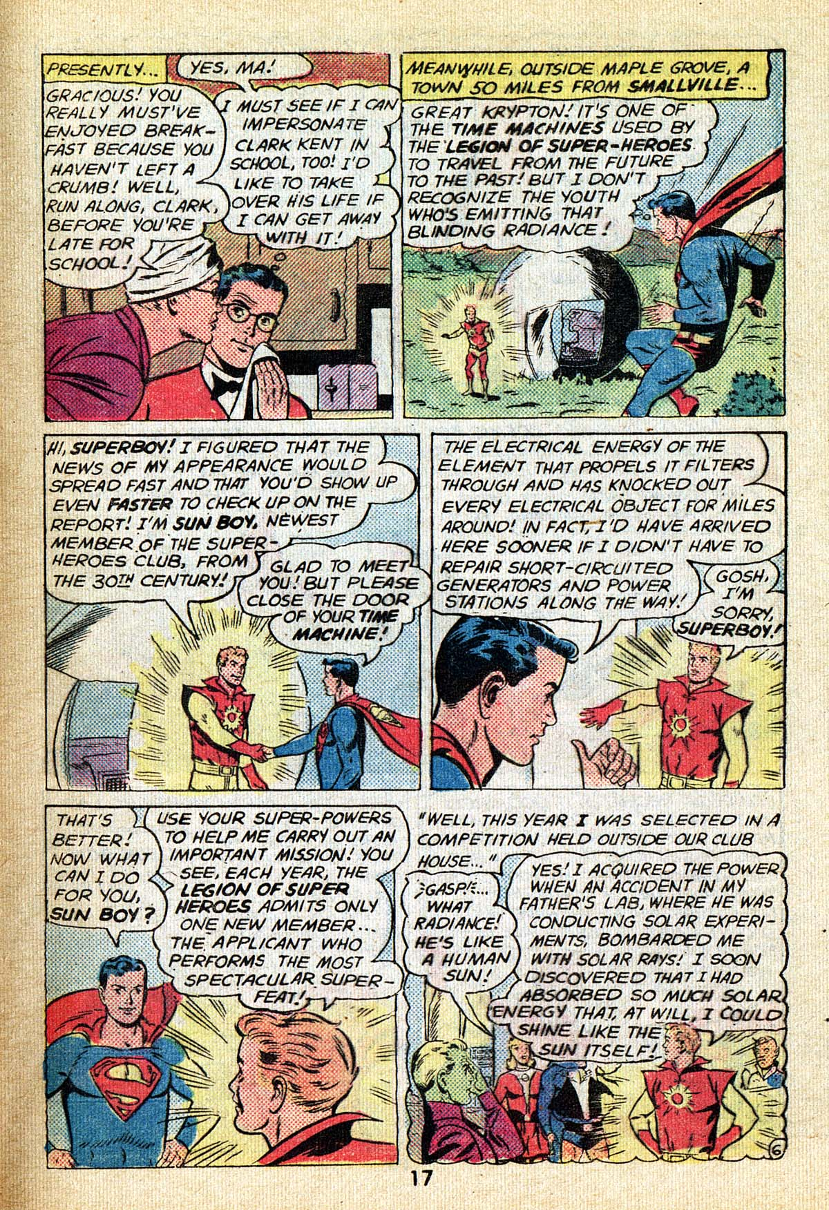 Read online Adventure Comics (1938) comic -  Issue #495 - 17