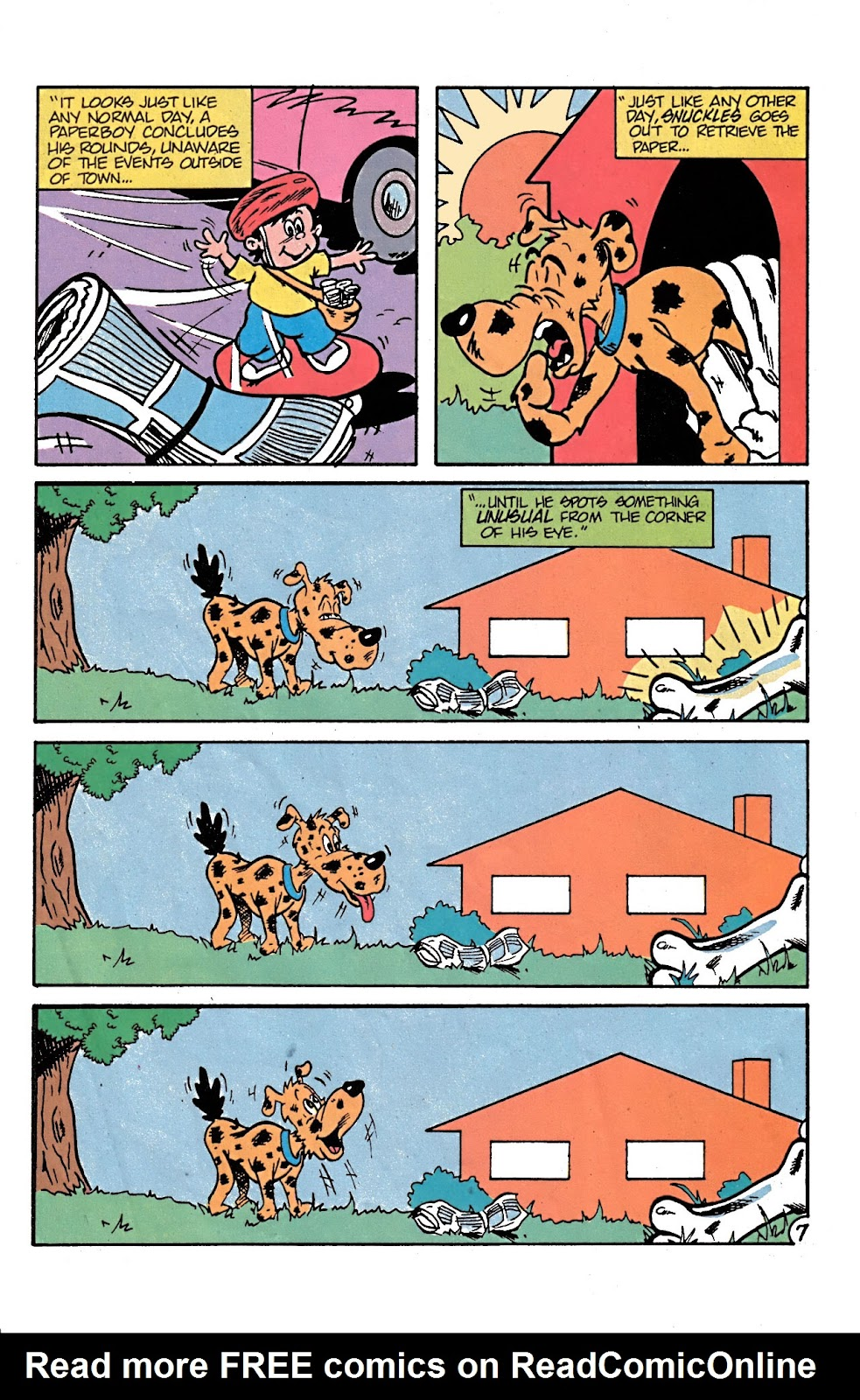Read online Conservation Corps comic -  Issue #3 - 19
