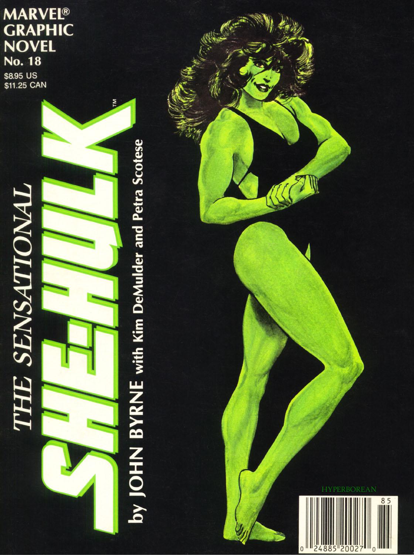 Marvel Graphic Novel 18_-_The_Sensational_She-Hulk Page 1